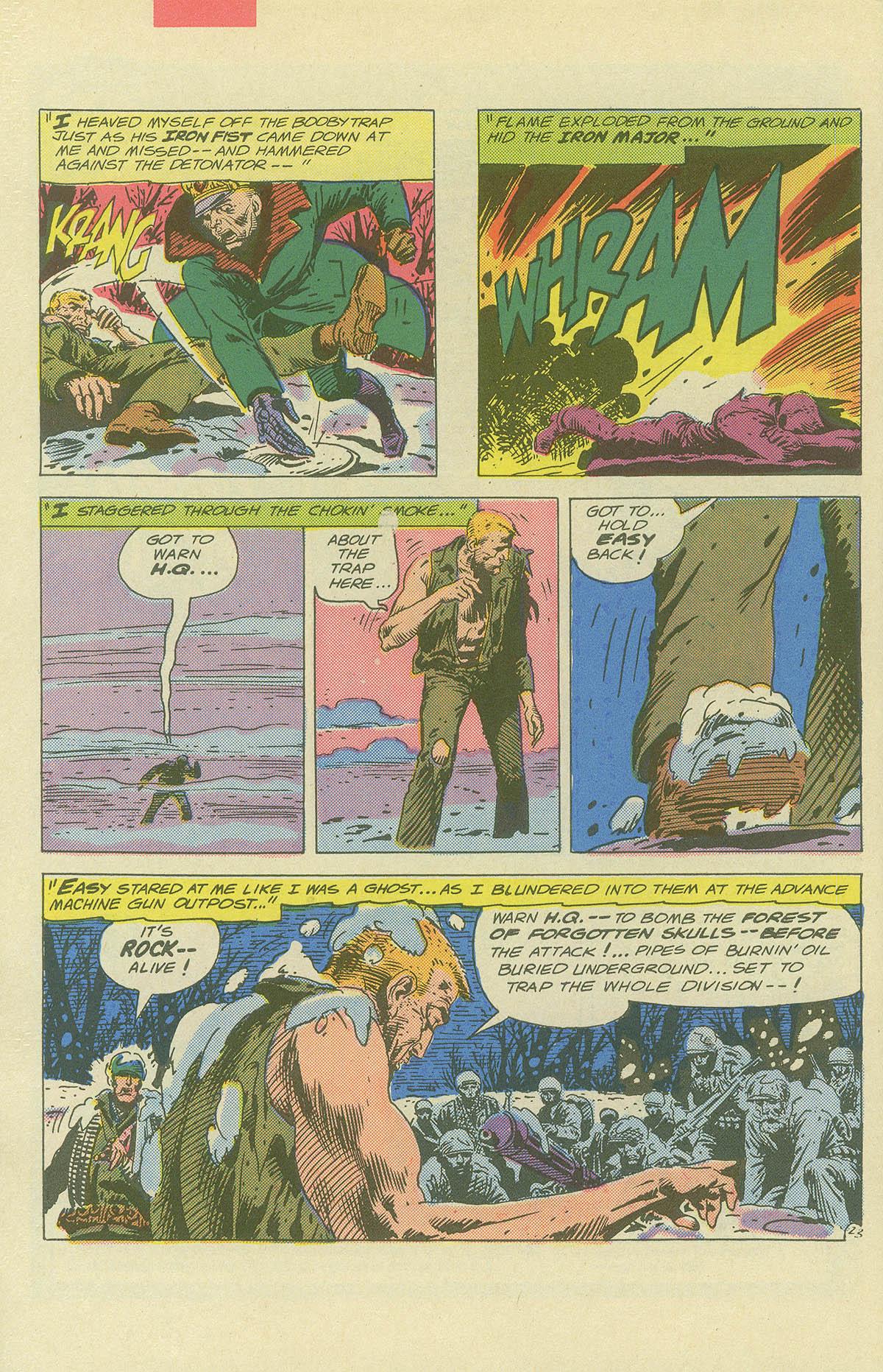 Read online Sgt. Rock comic -  Issue #404 - 32