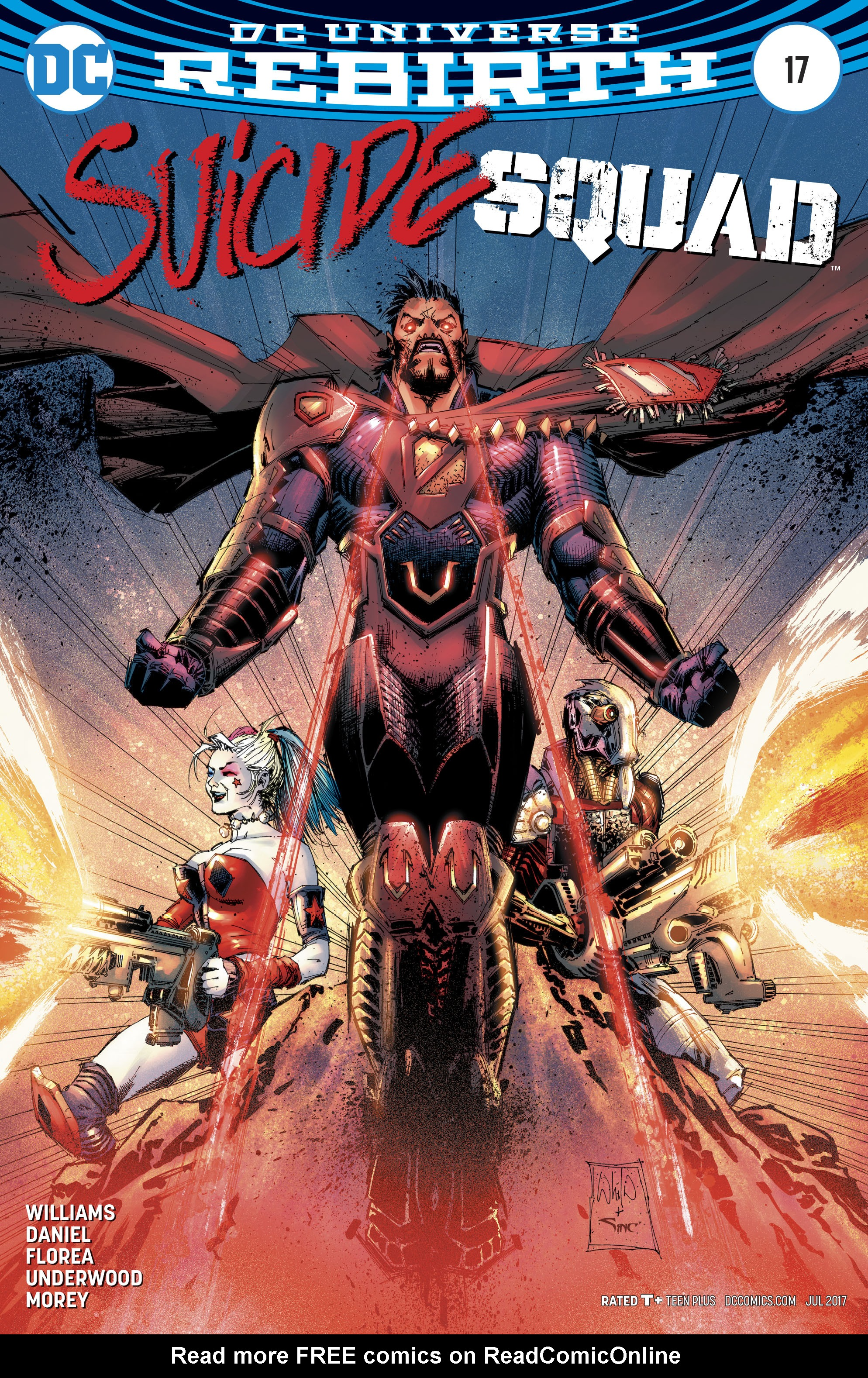 Read online Suicide Squad (2016) comic -  Issue #17 - 2