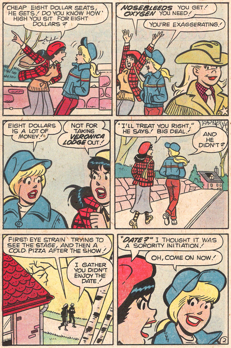 Read online Archie's Girls Betty and Veronica comic -  Issue #279 - 30