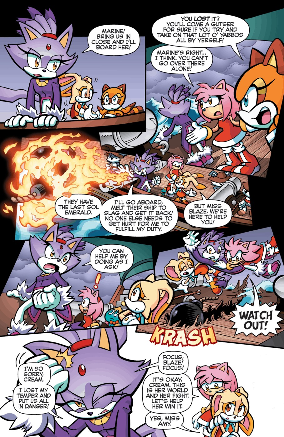 Read online Sonic Universe comic -  Issue #55 - 6