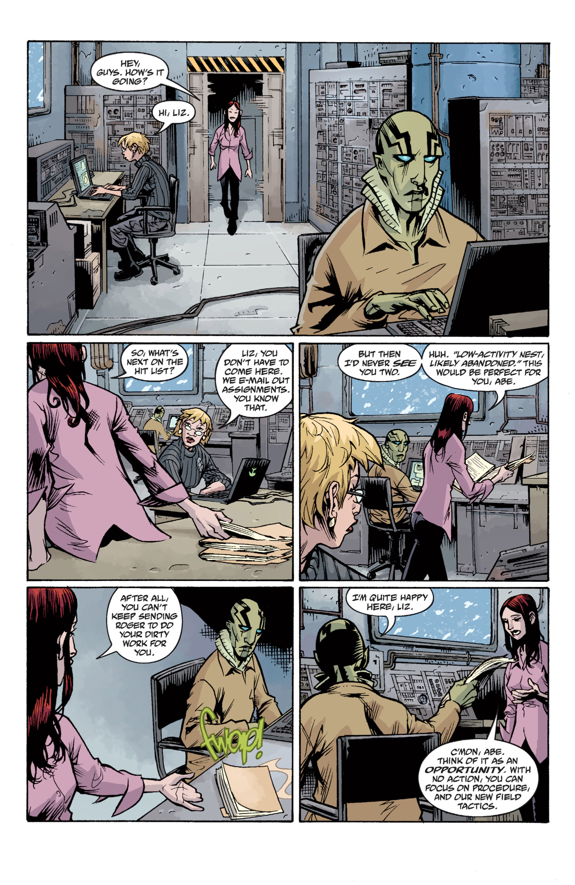 Read online B.P.R.D. (2003) comic -  Issue # TPB 12 - 114