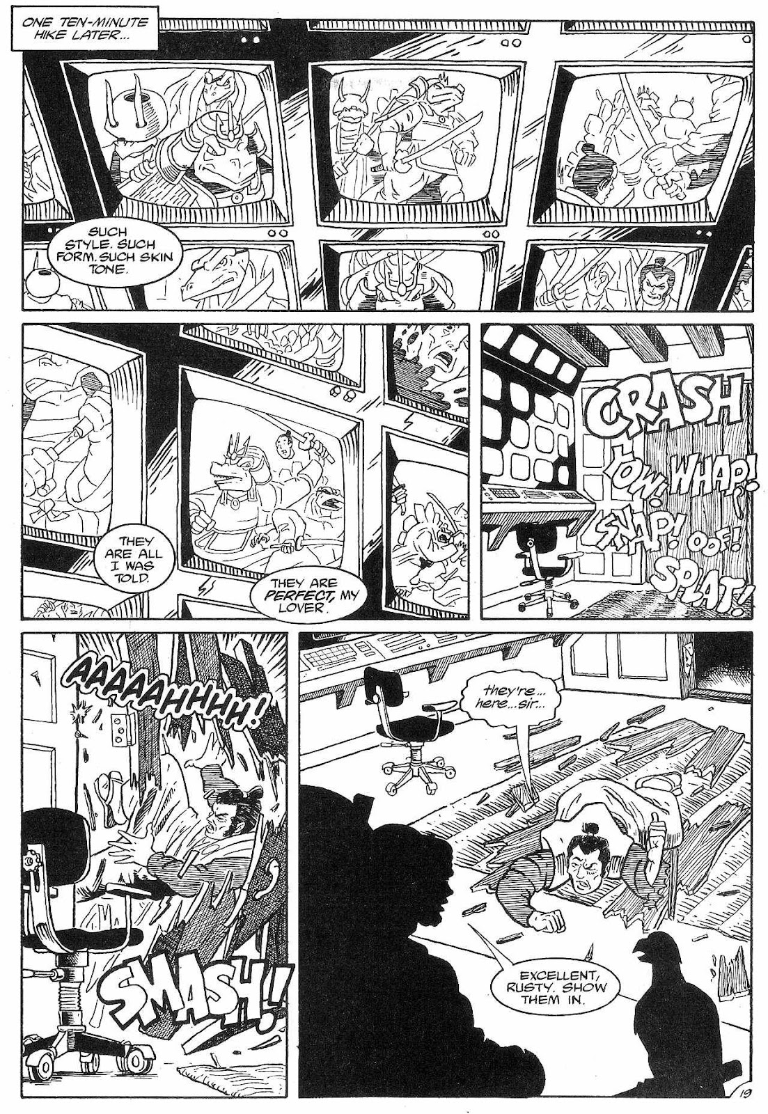 Dinosaurs For Hire (1988) issue 8 - Page 21