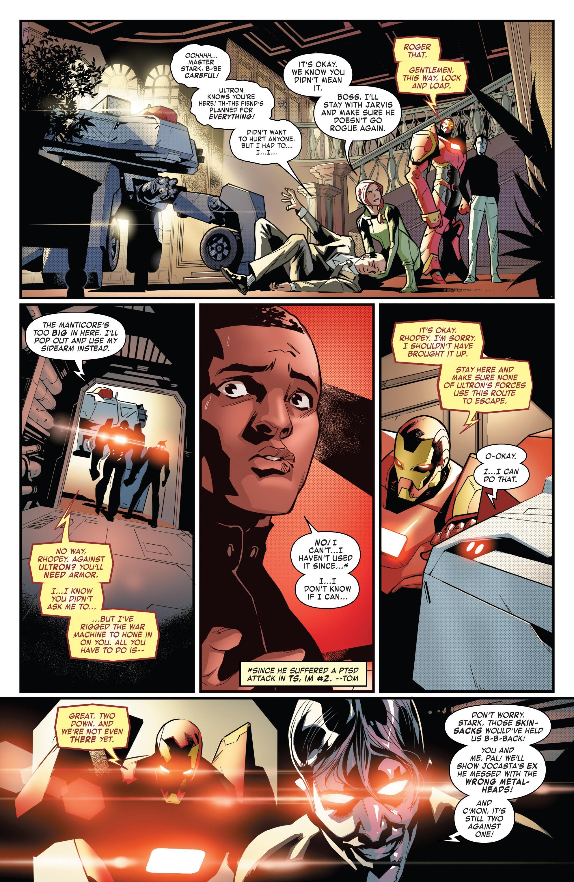 Read online Tony Stark: Iron Man comic -  Issue #16 - 14