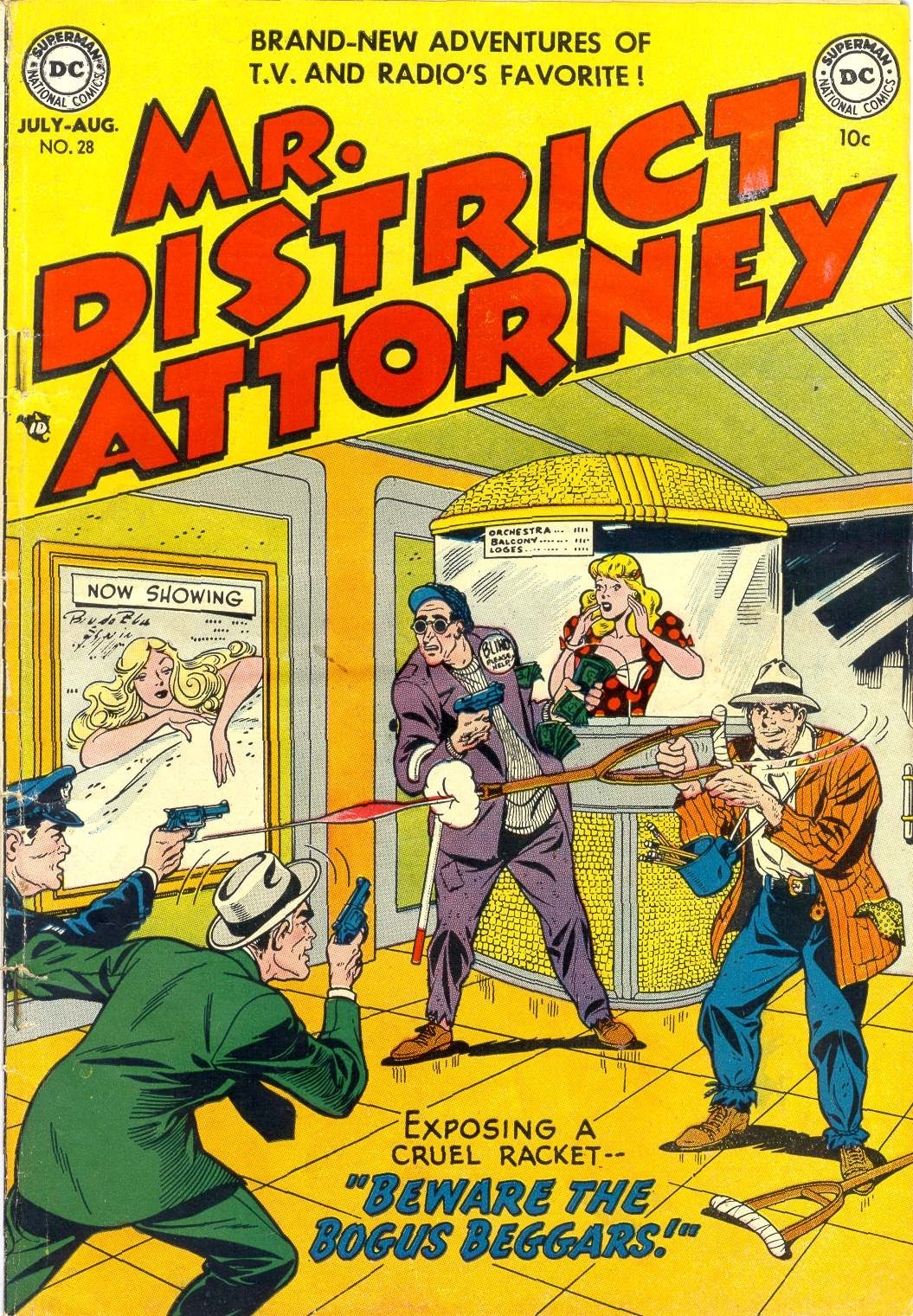Mr. District Attorney issue 28 - Page 1