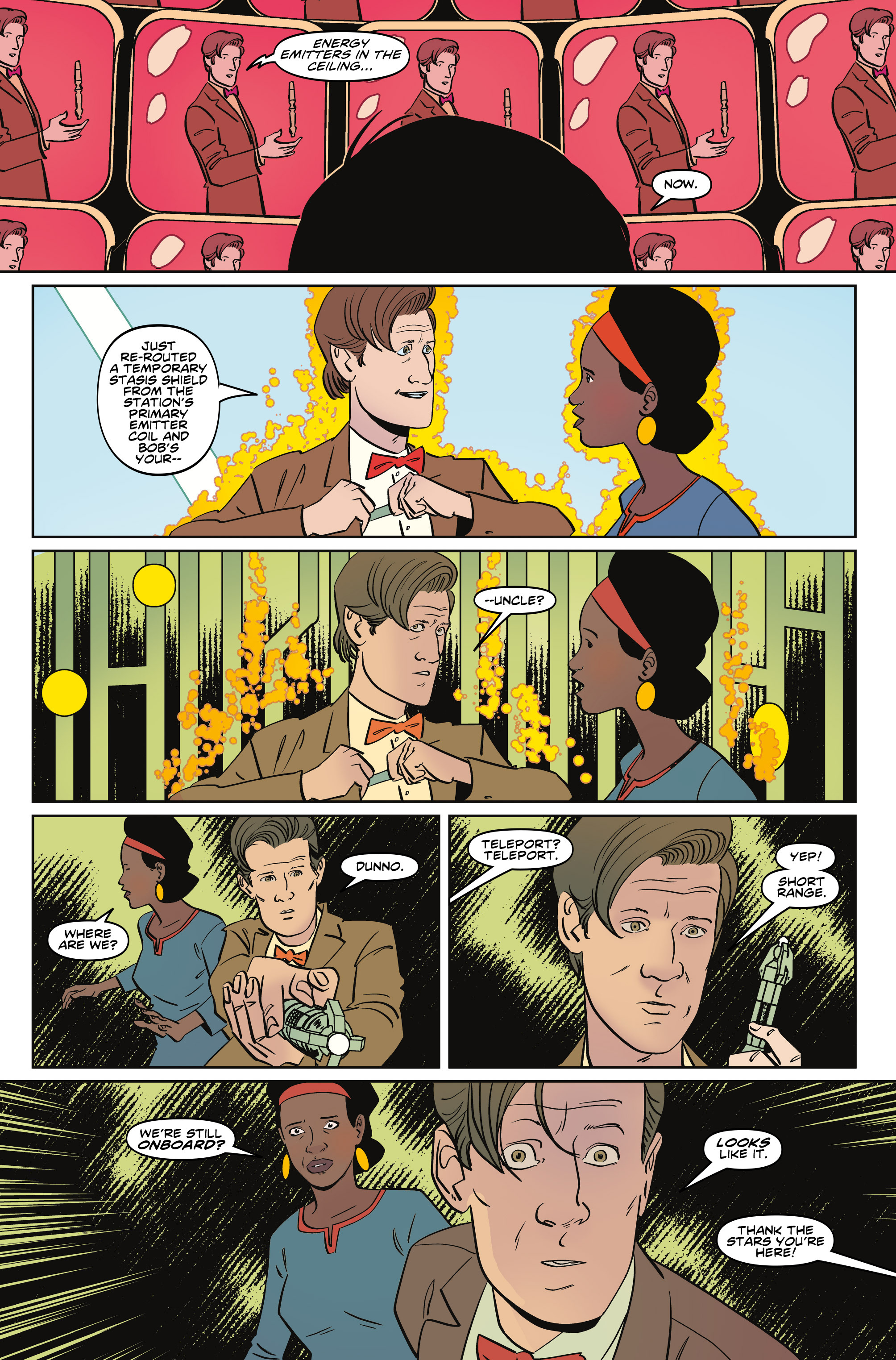 Read online Doctor Who: The Eleventh Doctor Year Three comic -  Issue #5 - 13