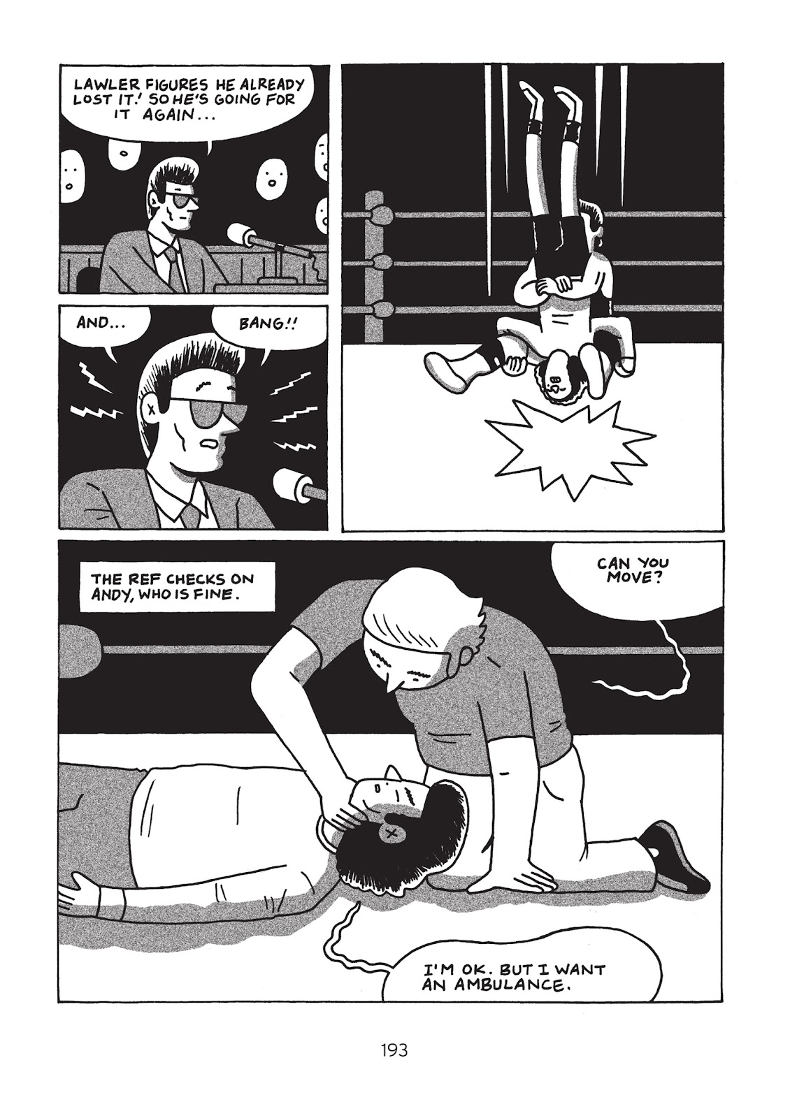 Read online Is This Guy For Real?: The Unbelievable Andy Kaufman comic -  Issue # TPB (Part 2) - 98