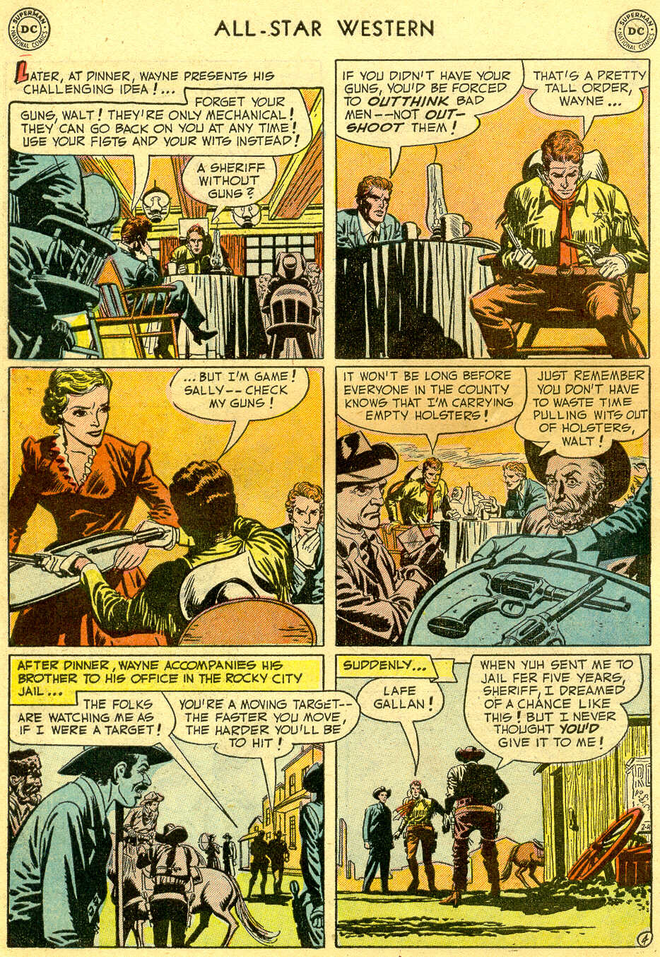 Read online All-Star Western (1951) comic -  Issue #64 - 6