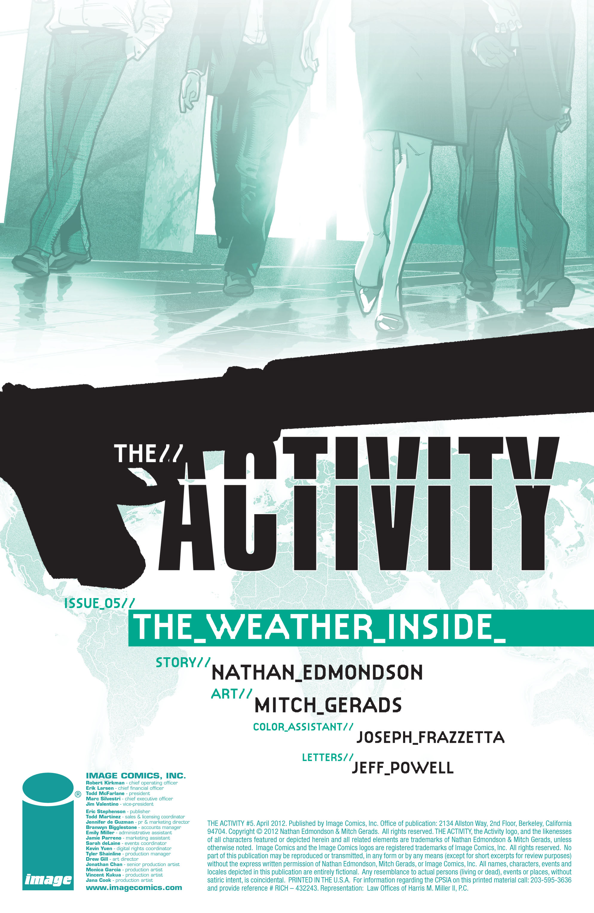 Read online The Activity comic -  Issue #5 - 2