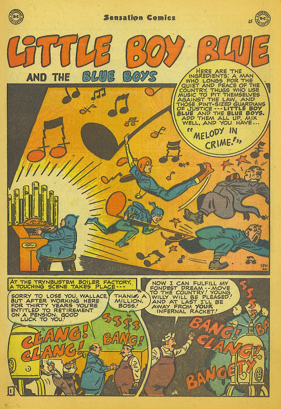Read online Sensation (Mystery) Comics comic -  Issue #66 - 17