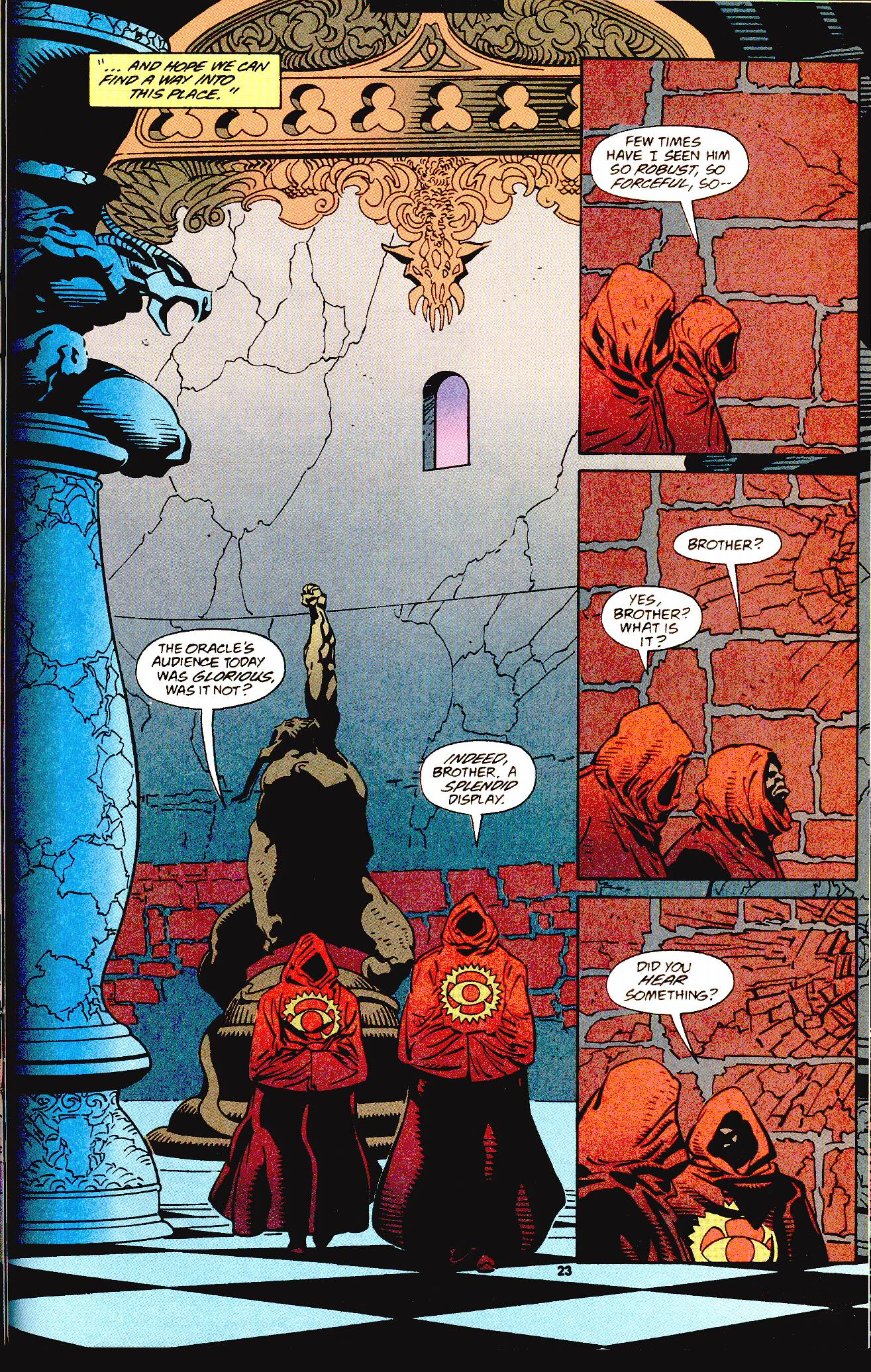 Read online Secret Defenders comic -  Issue #12 - 15