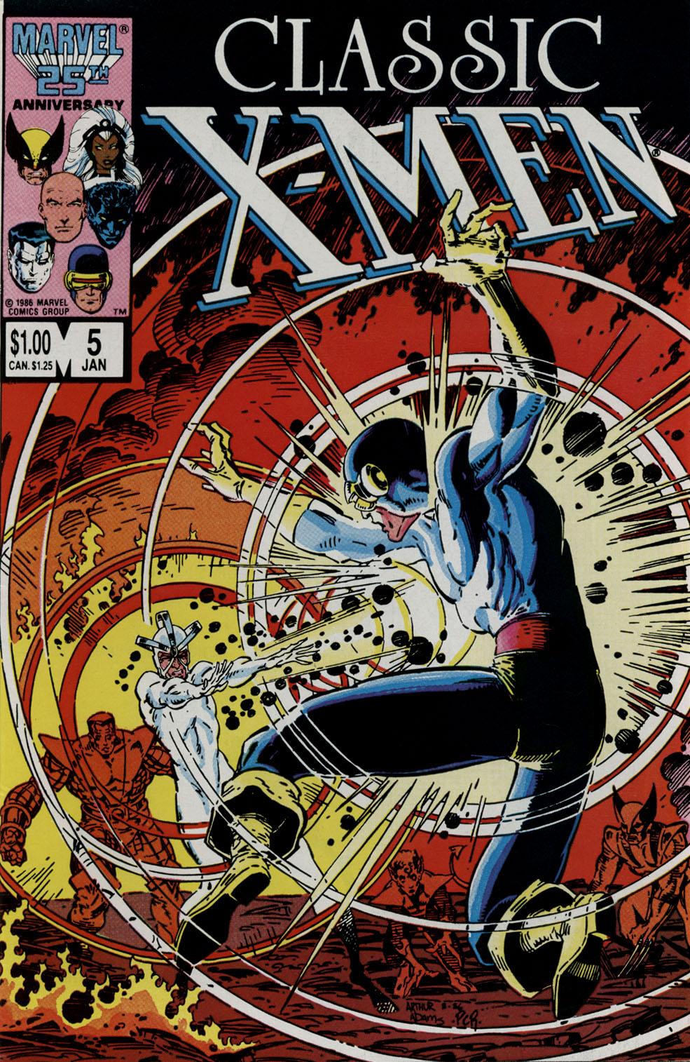 Classic X-Men 5 Page 1