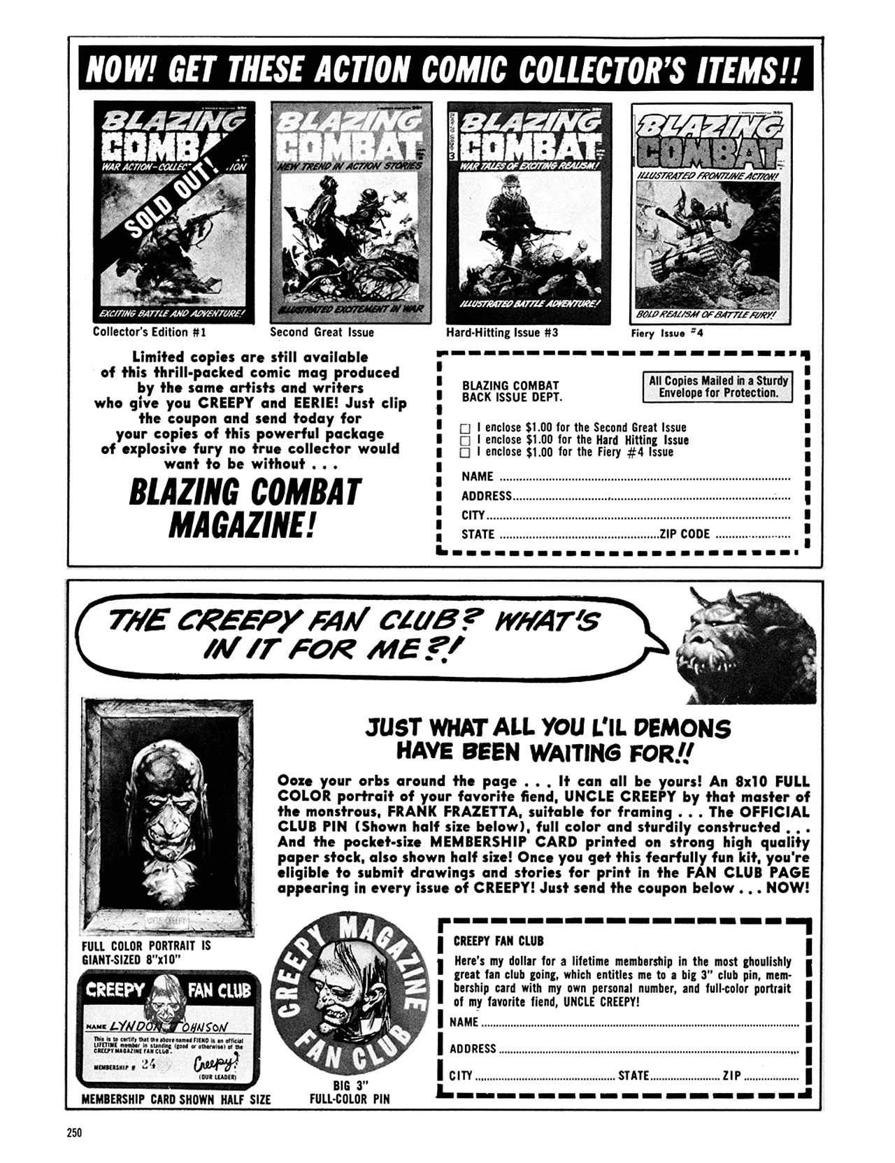 Read online Eerie Archives comic -  Issue # TPB 8 - 251