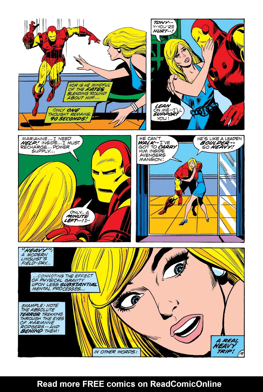 Read online Marvel Masterworks: The Invincible Iron Man comic -  Issue # TPB 8 (Part 3) - 29