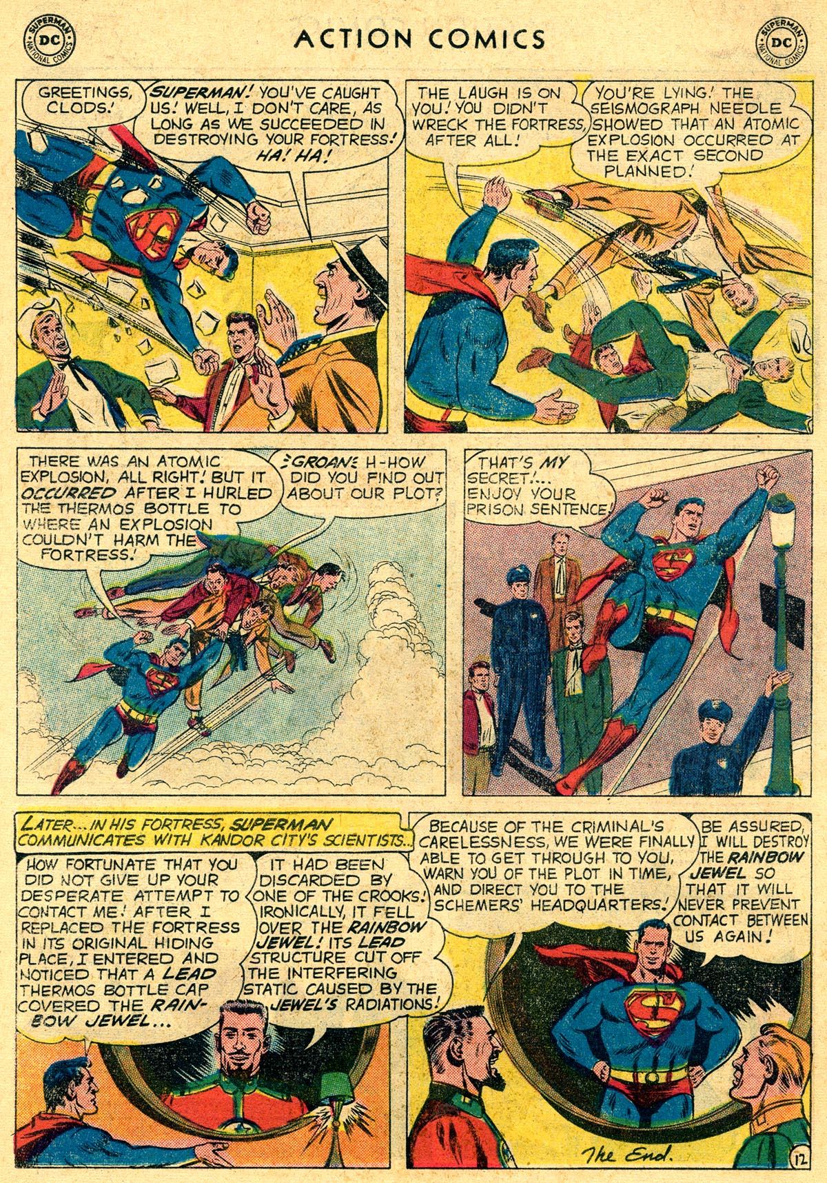 Read online Action Comics (1938) comic -  Issue #261 - 14