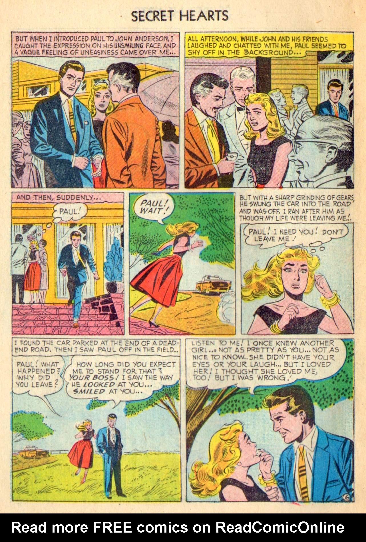 Read online Secret Hearts comic -  Issue #31 - 22