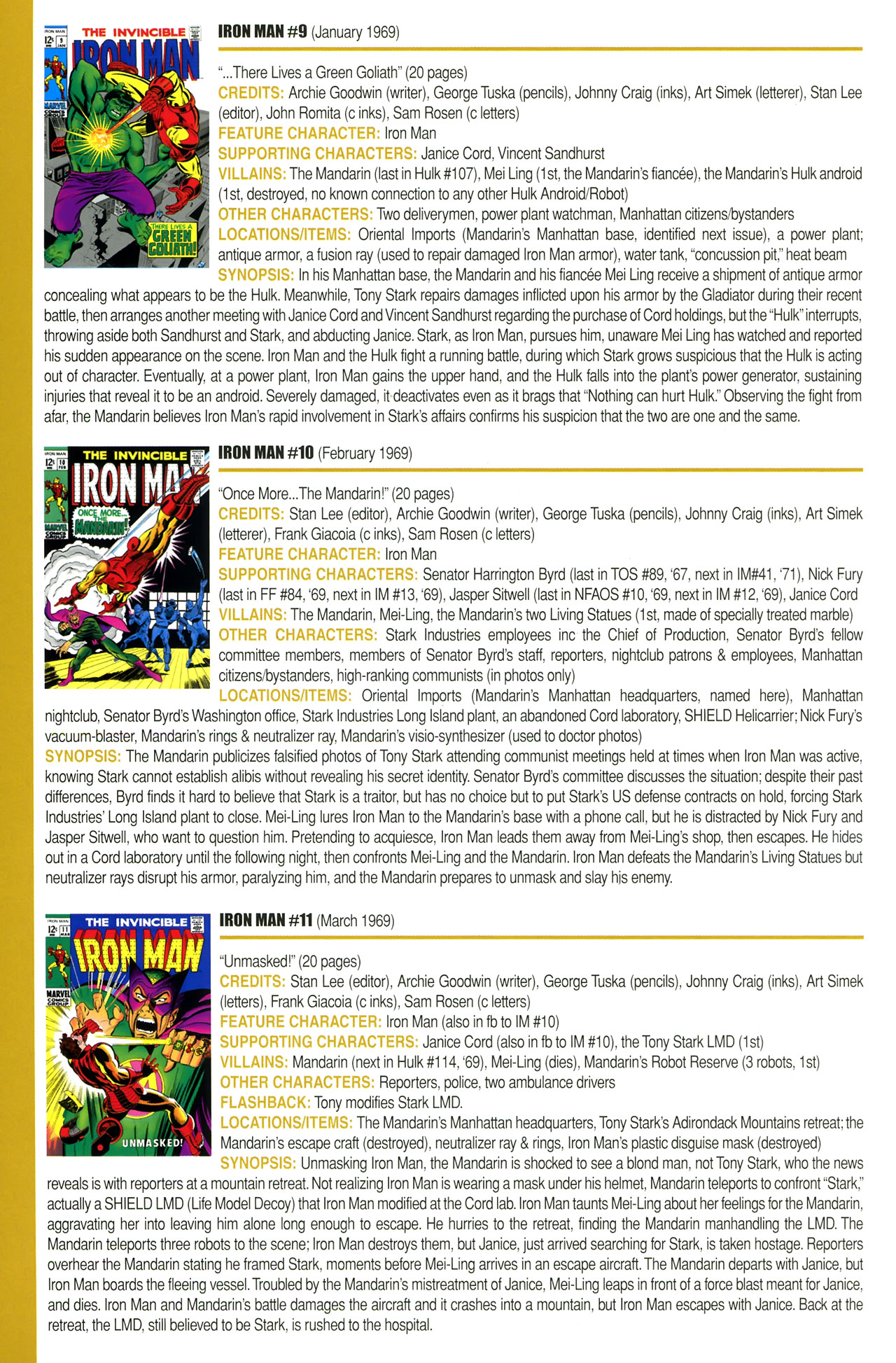 Read online Official Index to the Marvel Universe comic -  Issue #2 - 44