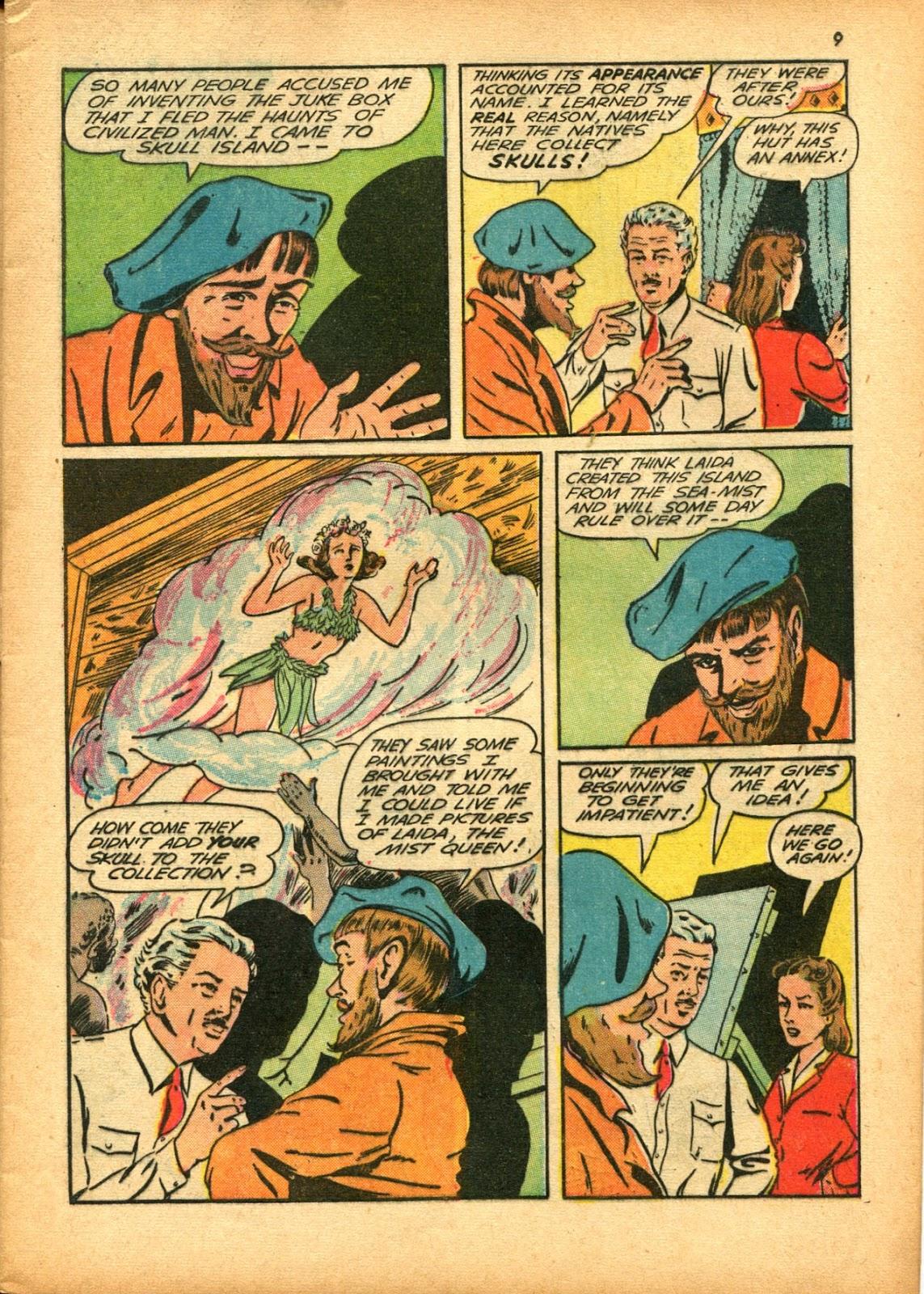 Read online Super-Magician Comics comic -  Issue #15 - 9
