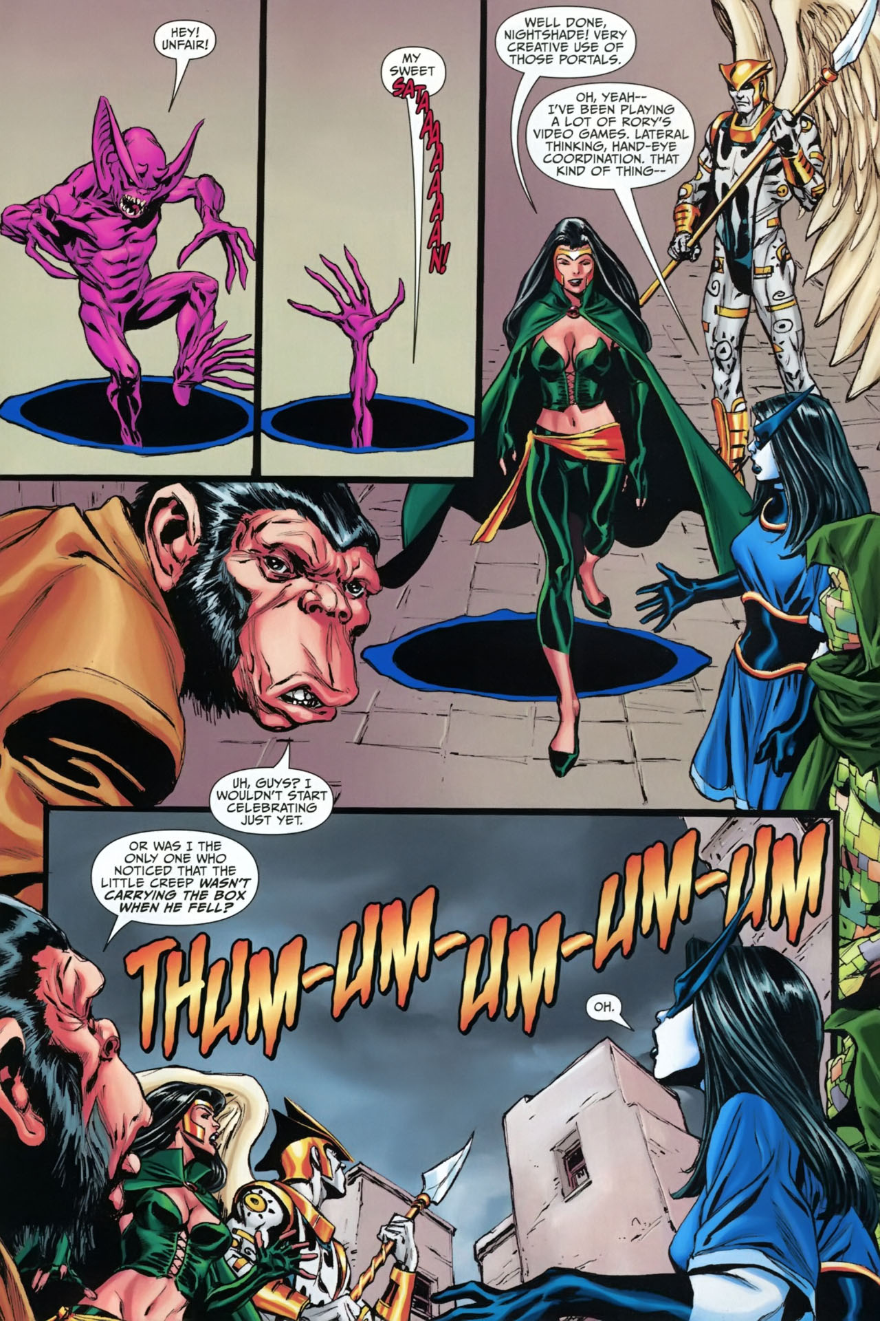 Read online Shadowpact comic -  Issue #23 - 5