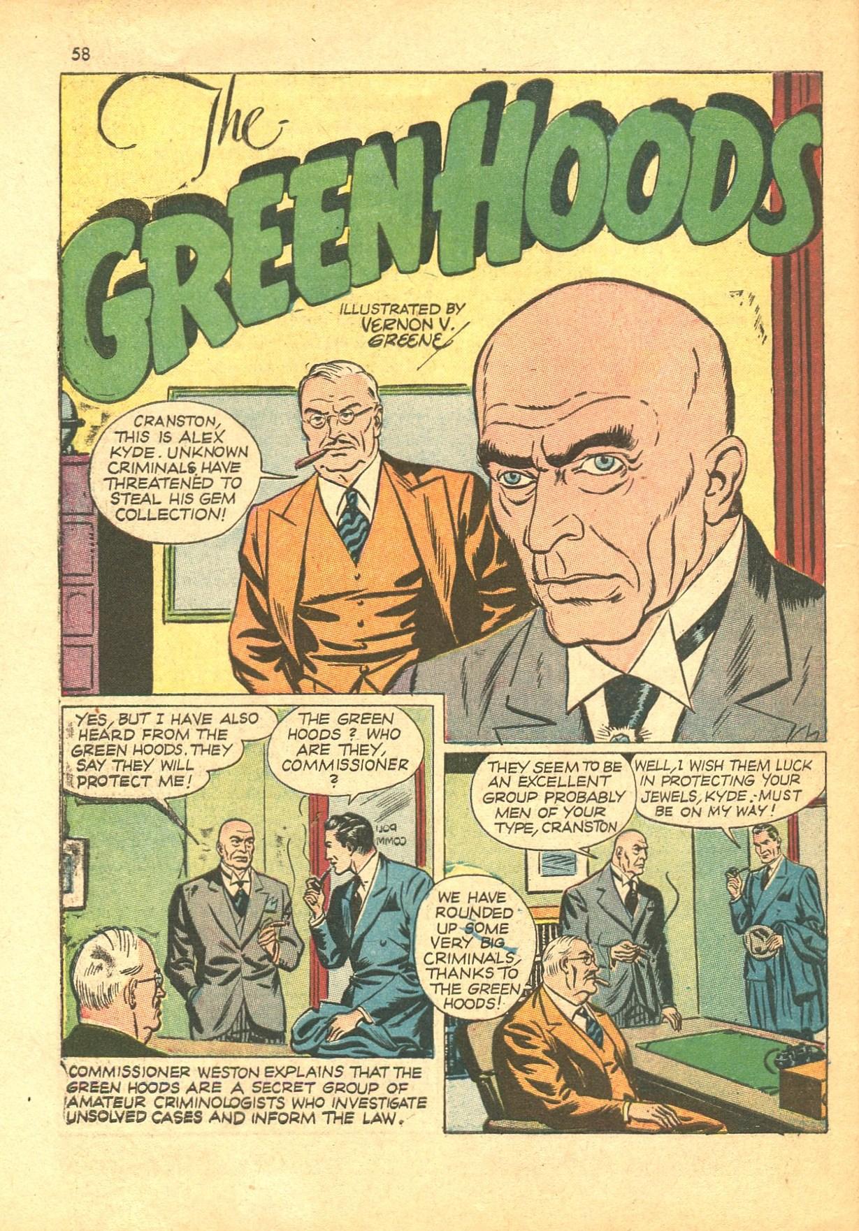 Read online Shadow Comics comic -  Issue #24 - 50