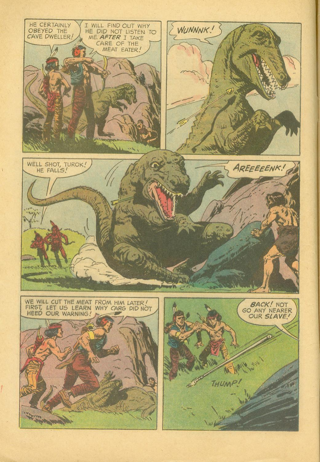 Read online Turok, Son of Stone comic -  Issue #28 - 4