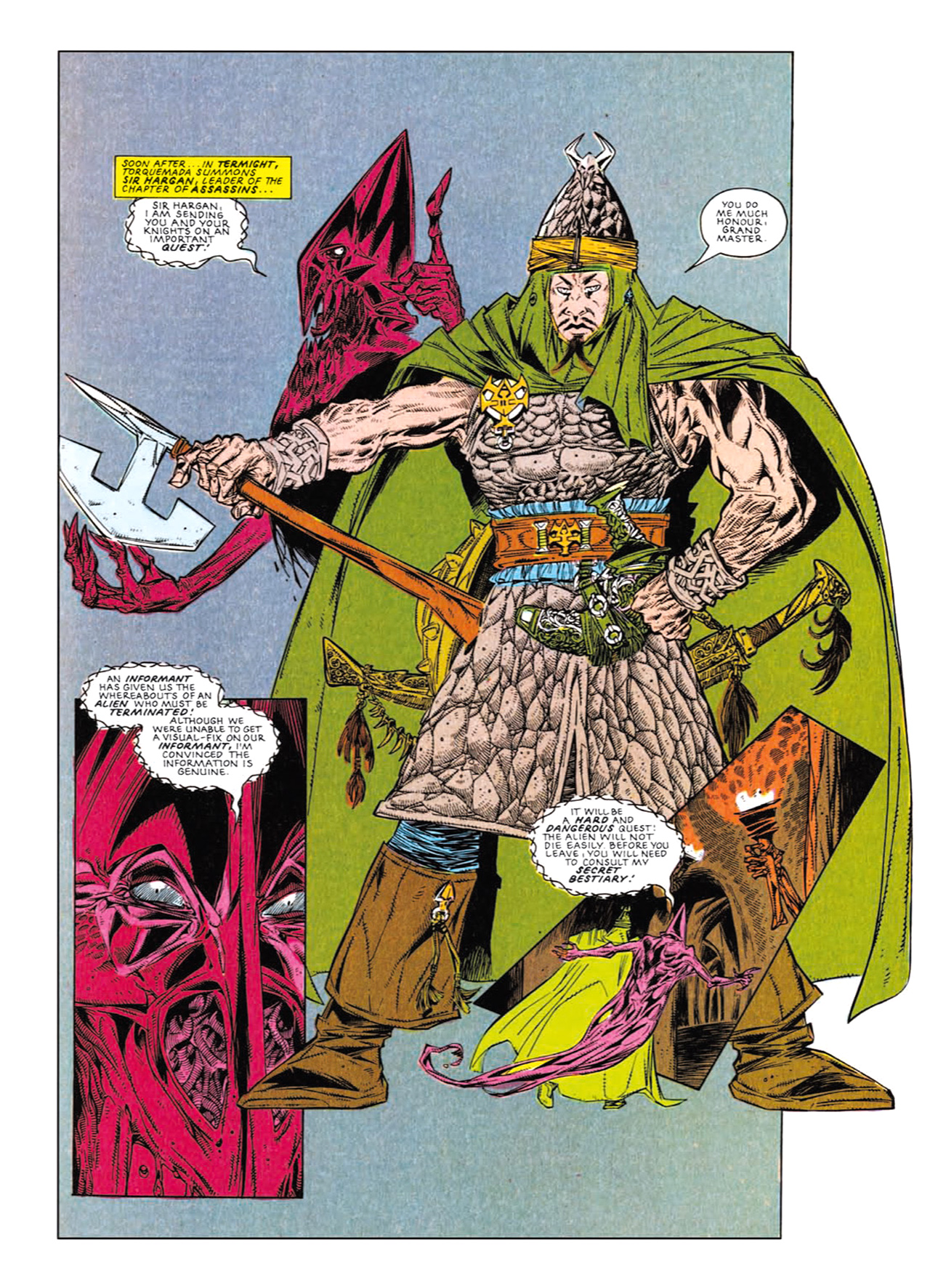 Read online Nemesis The Warlock comic -  Issue # TPB Deviant Edition - 170