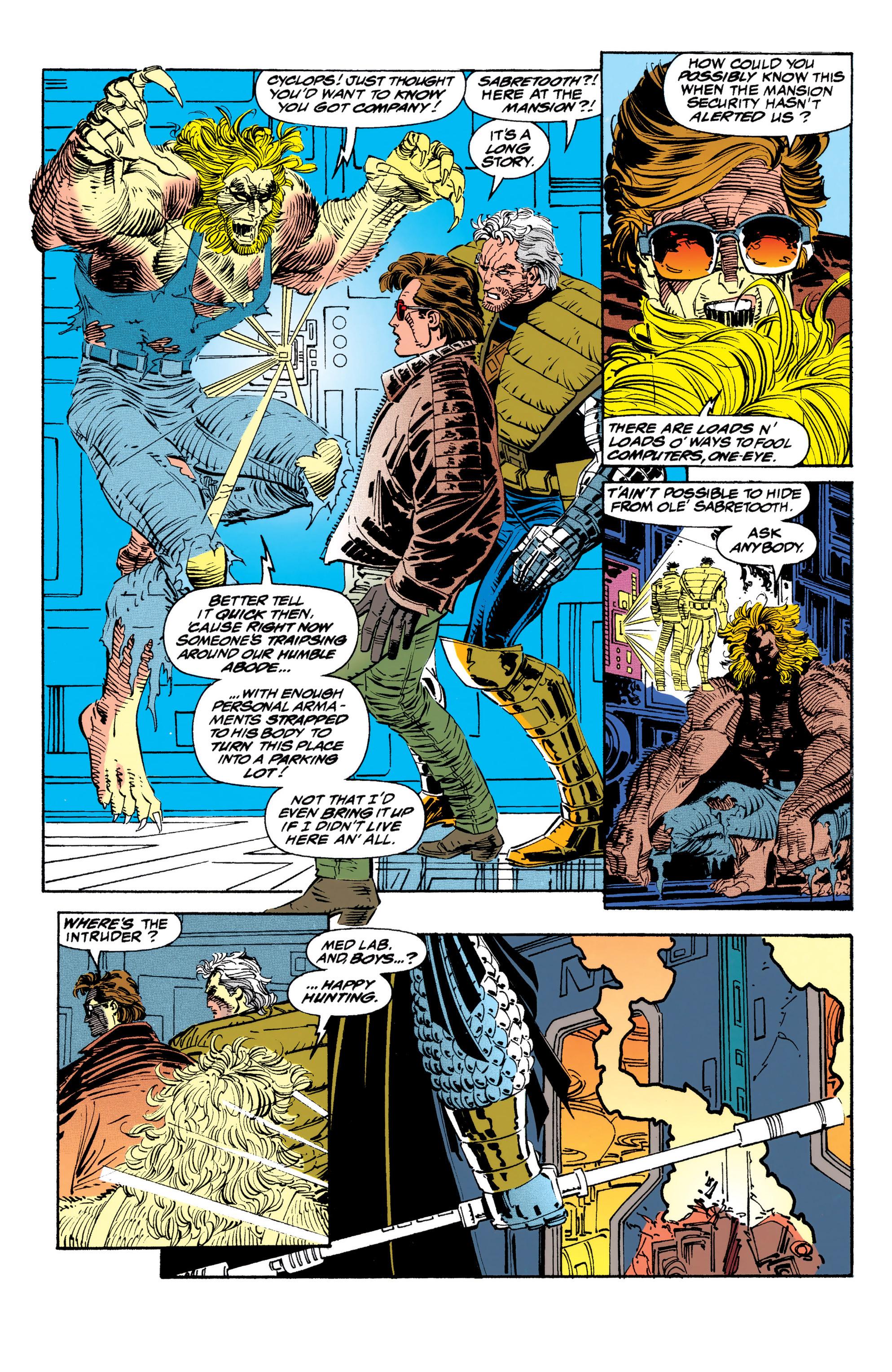 Read online Uncanny X-Men (1963) comic -  Issue #310 - 12