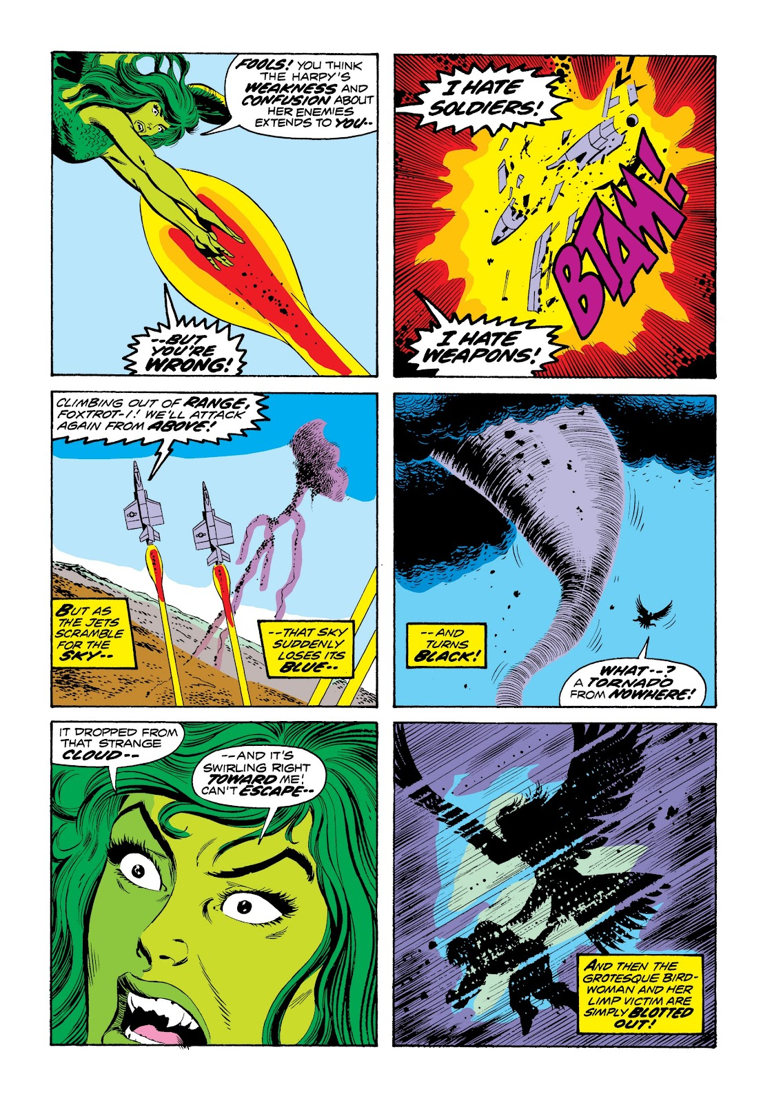 Read online Marvel Masterworks: The Incredible Hulk comic -  Issue # TPB 9 (Part 3) - 62