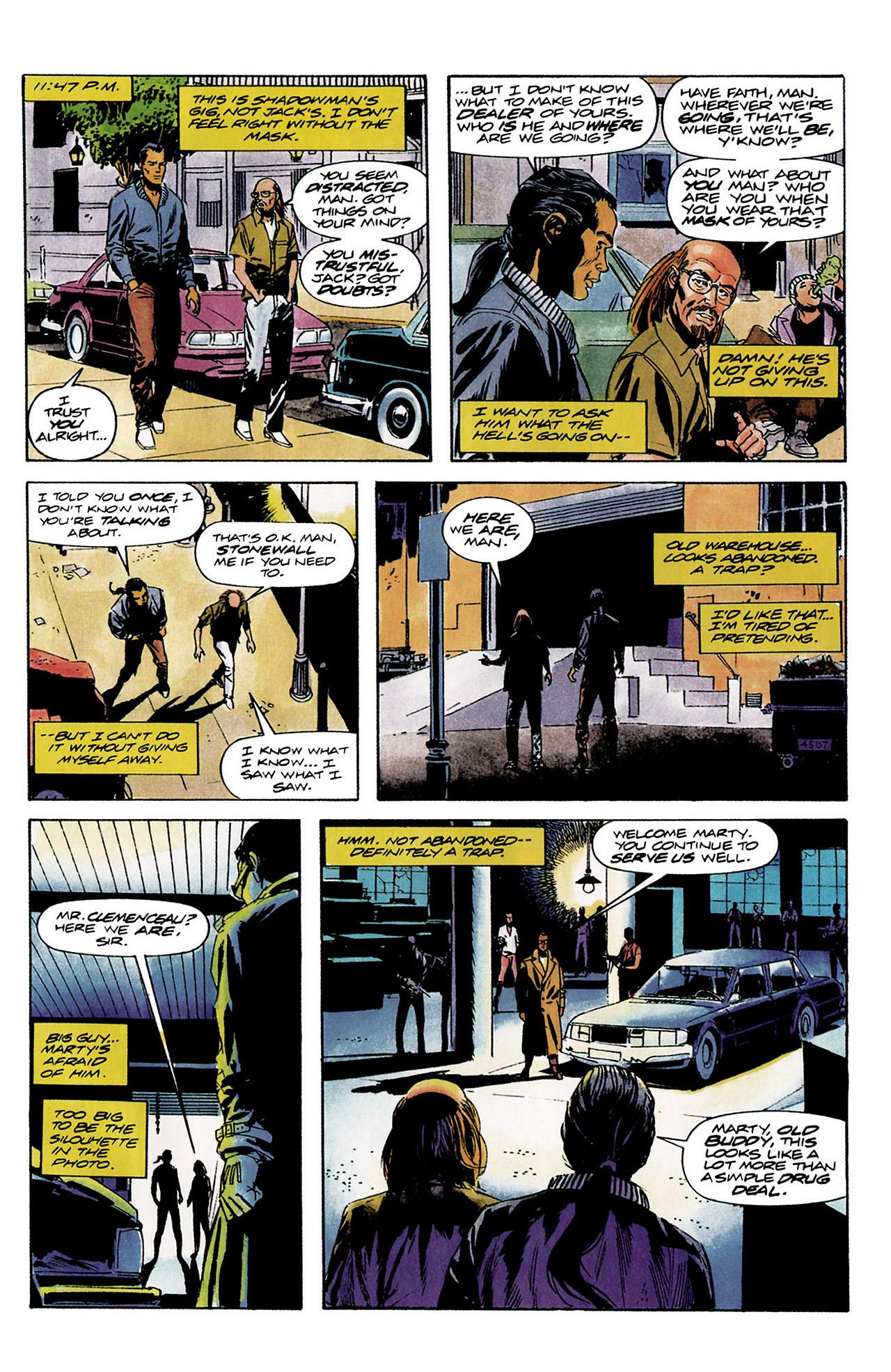 Read online Shadowman (1992) comic -  Issue #8 - 11