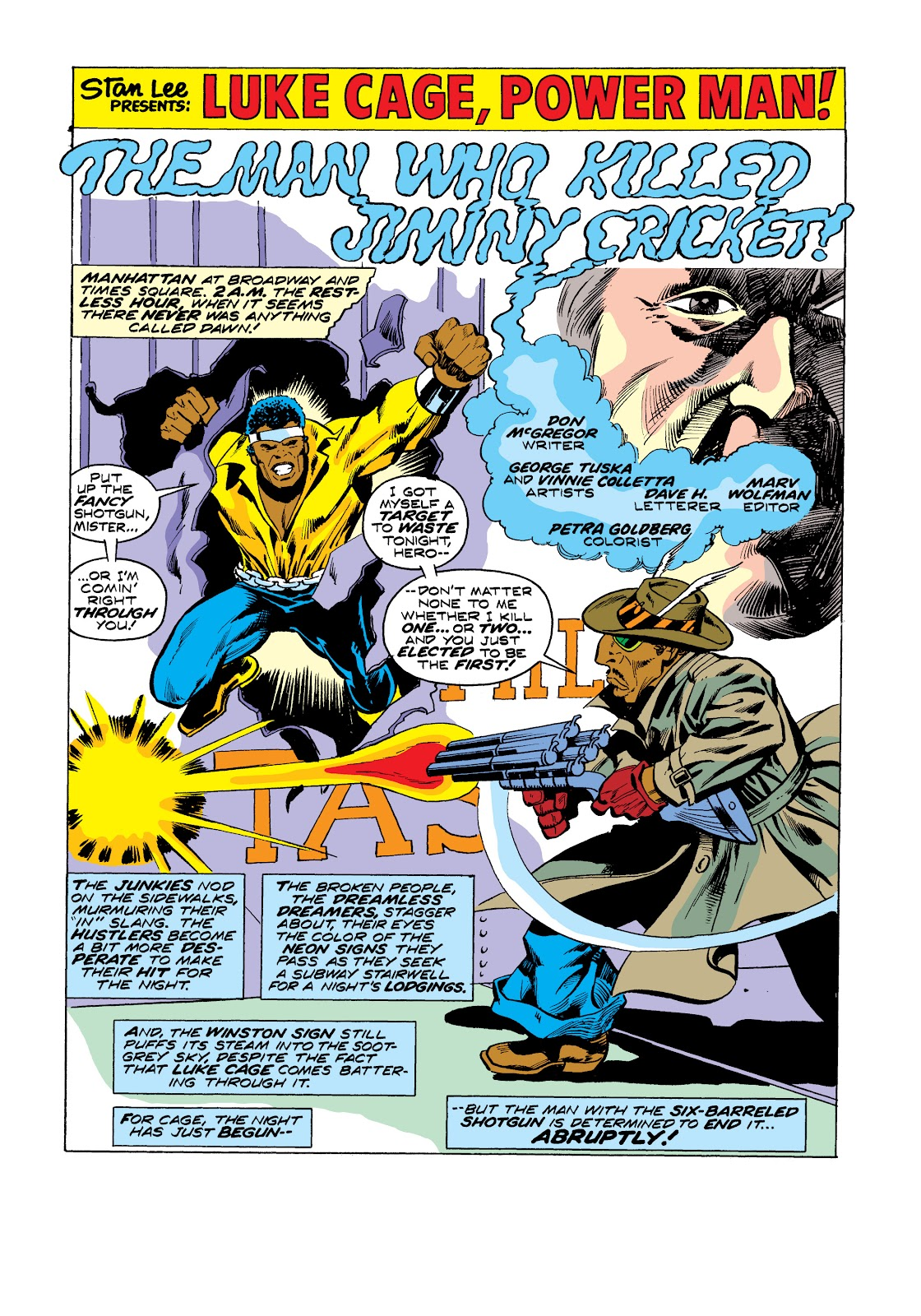 Read online Marvel Masterworks: Luke Cage, Power Man comic -  Issue # TPB 2 (Part 3) - 21