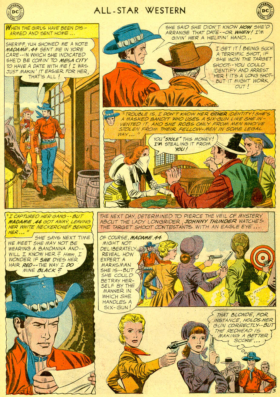 Read online All-Star Western (1951) comic -  Issue #118 - 5