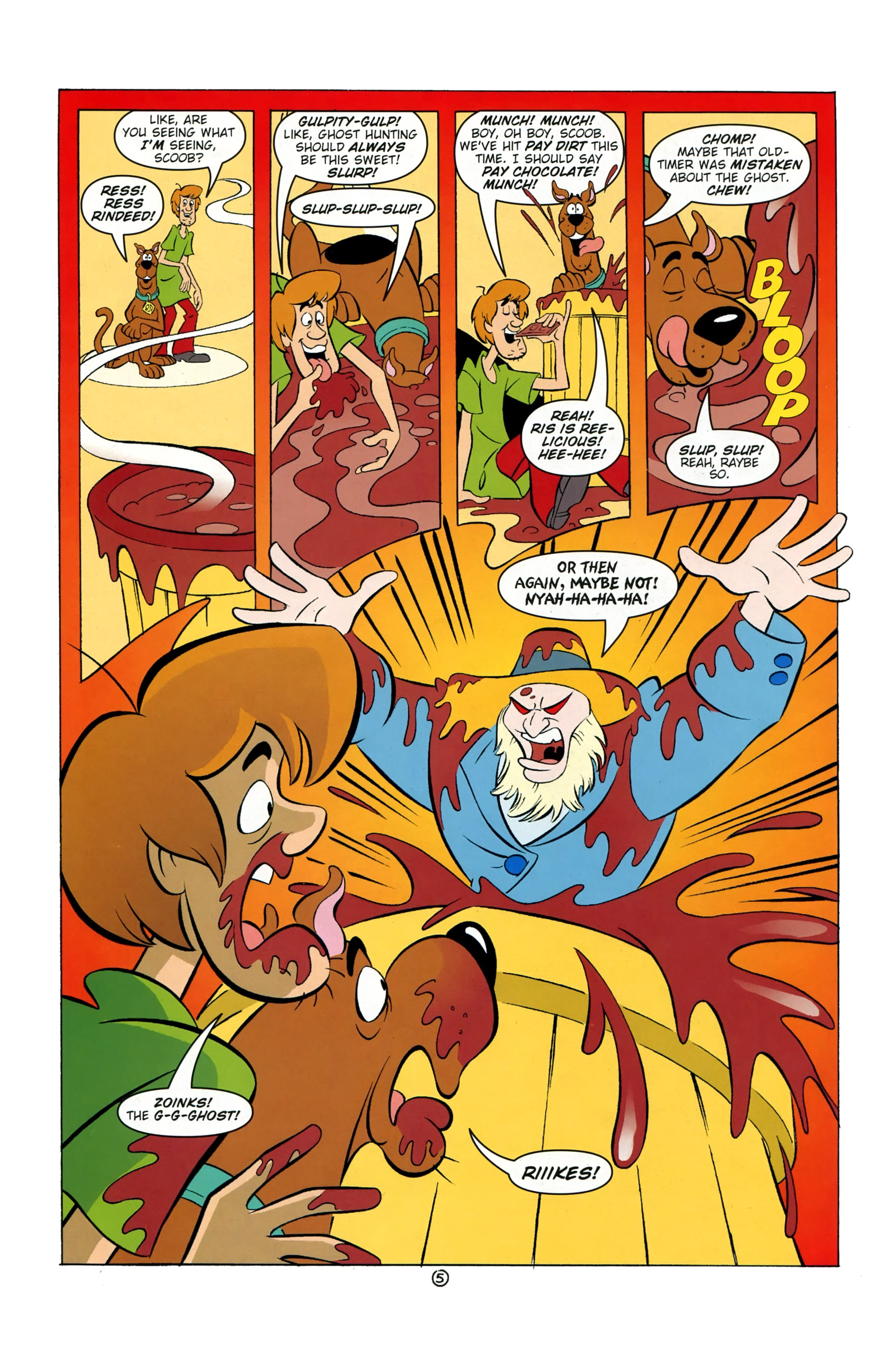 Read online Scooby-Doo: Where Are You? comic -  Issue #37 - 20