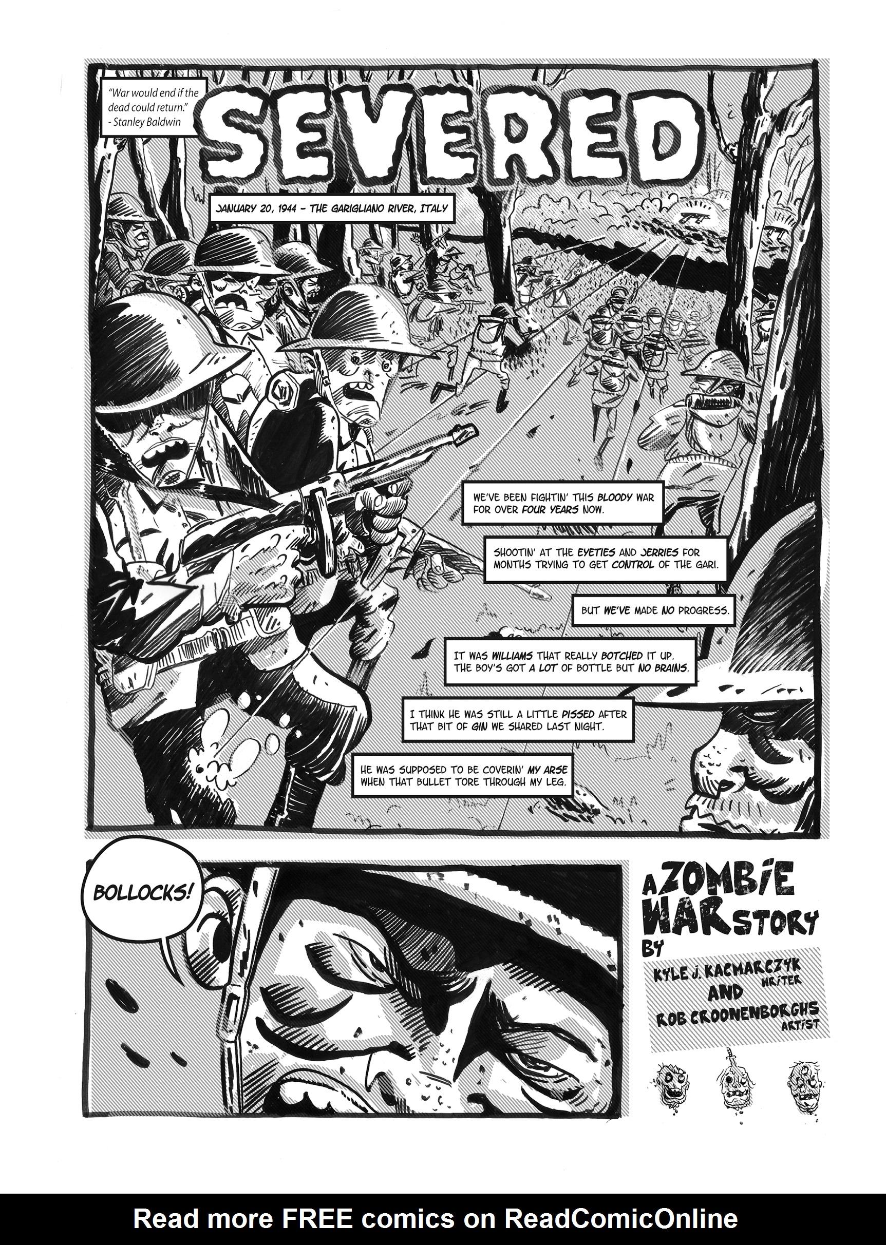 Read online FUBAR comic -  Issue #1 - 64