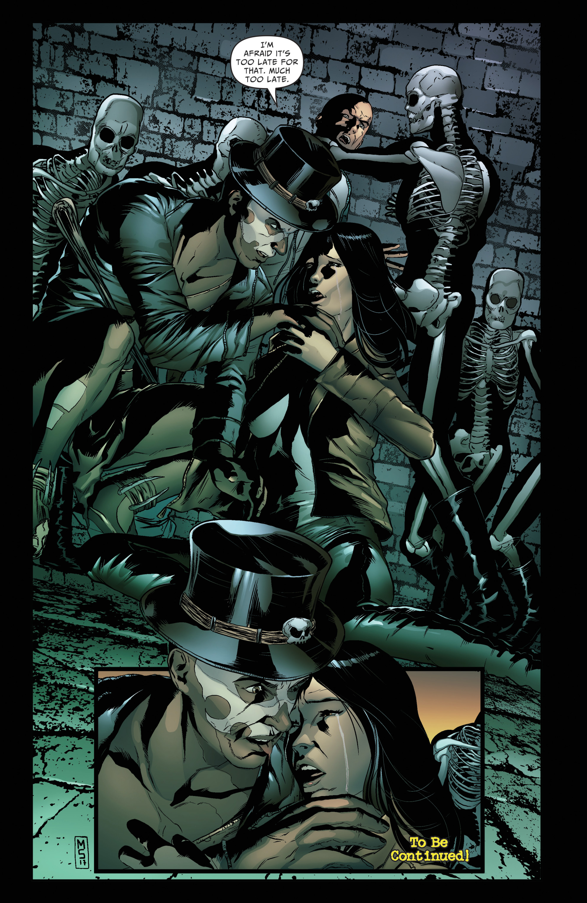 Read online Grimm Fairy Tales: Day of the Dead comic -  Issue #4 - 24