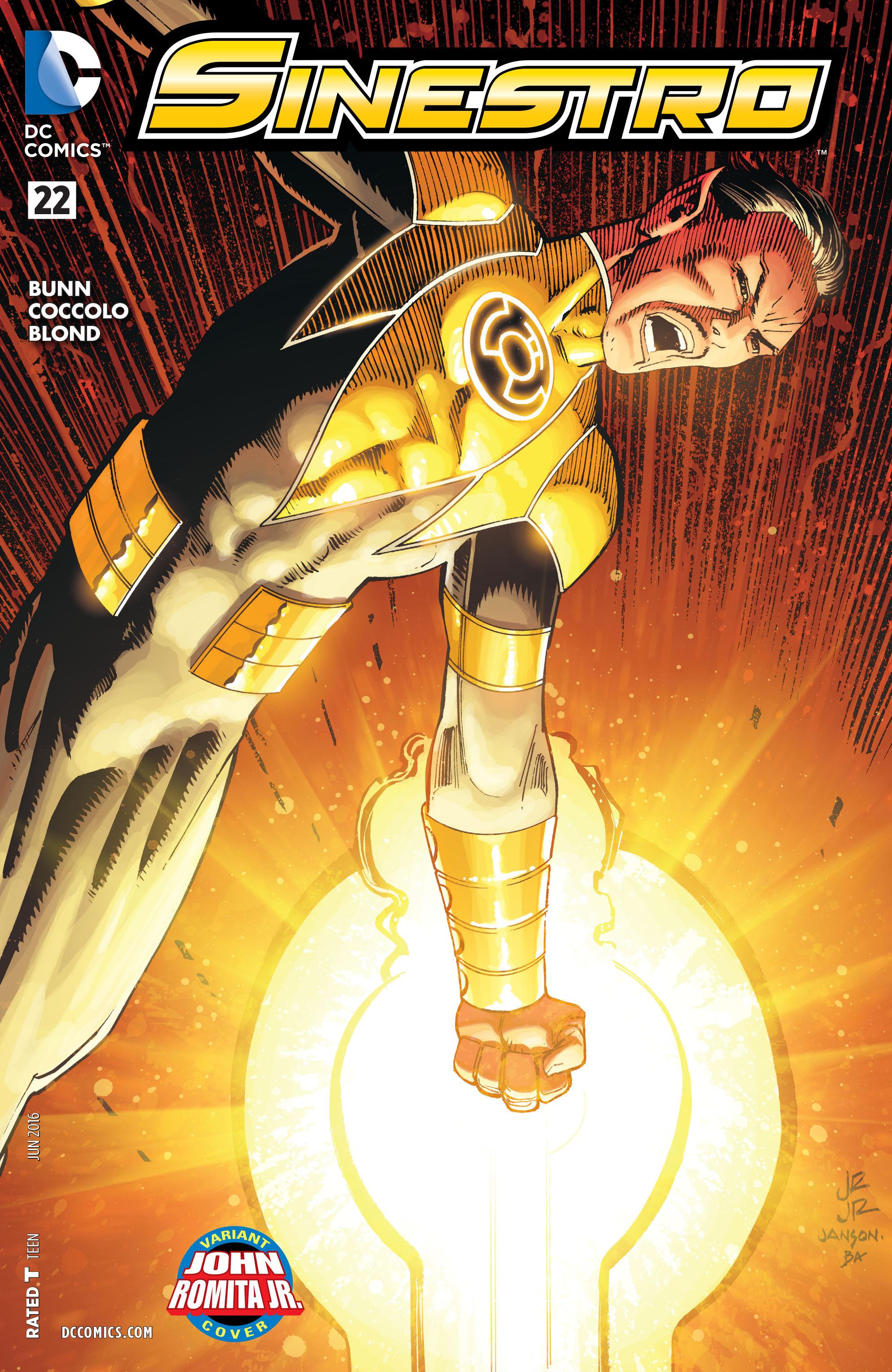 Read online Sinestro comic -  Issue #22 - 3