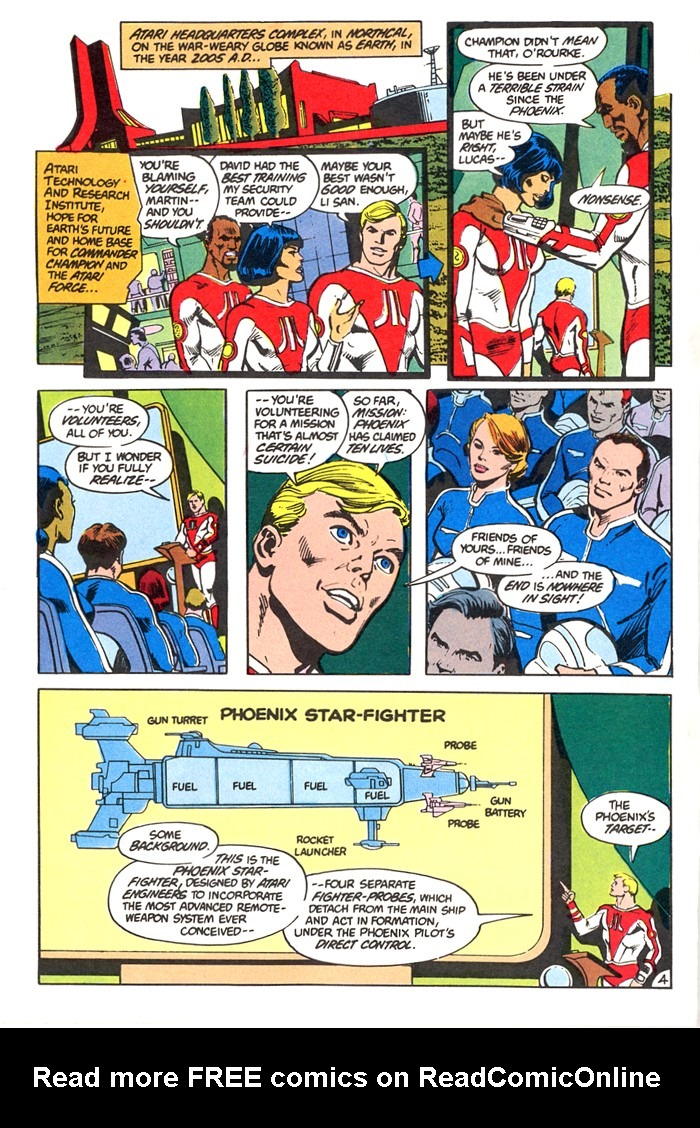 Read online Atari Force (1982) comic -  Issue #4 - 6