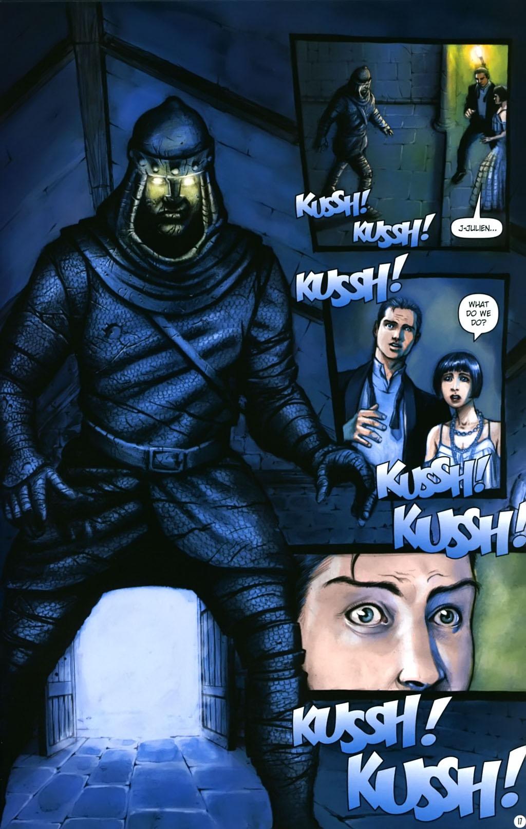 Read online Rex Mundi comic -  Issue #17 - 21