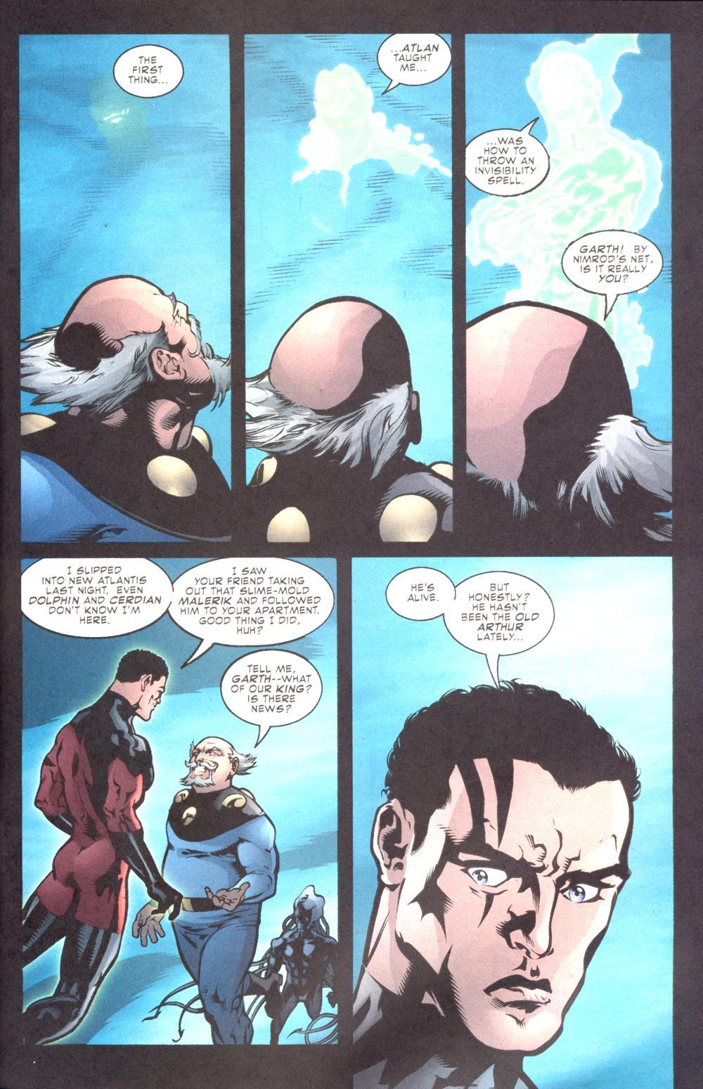 Read online Aquaman (2003) comic -  Issue #10 - 22