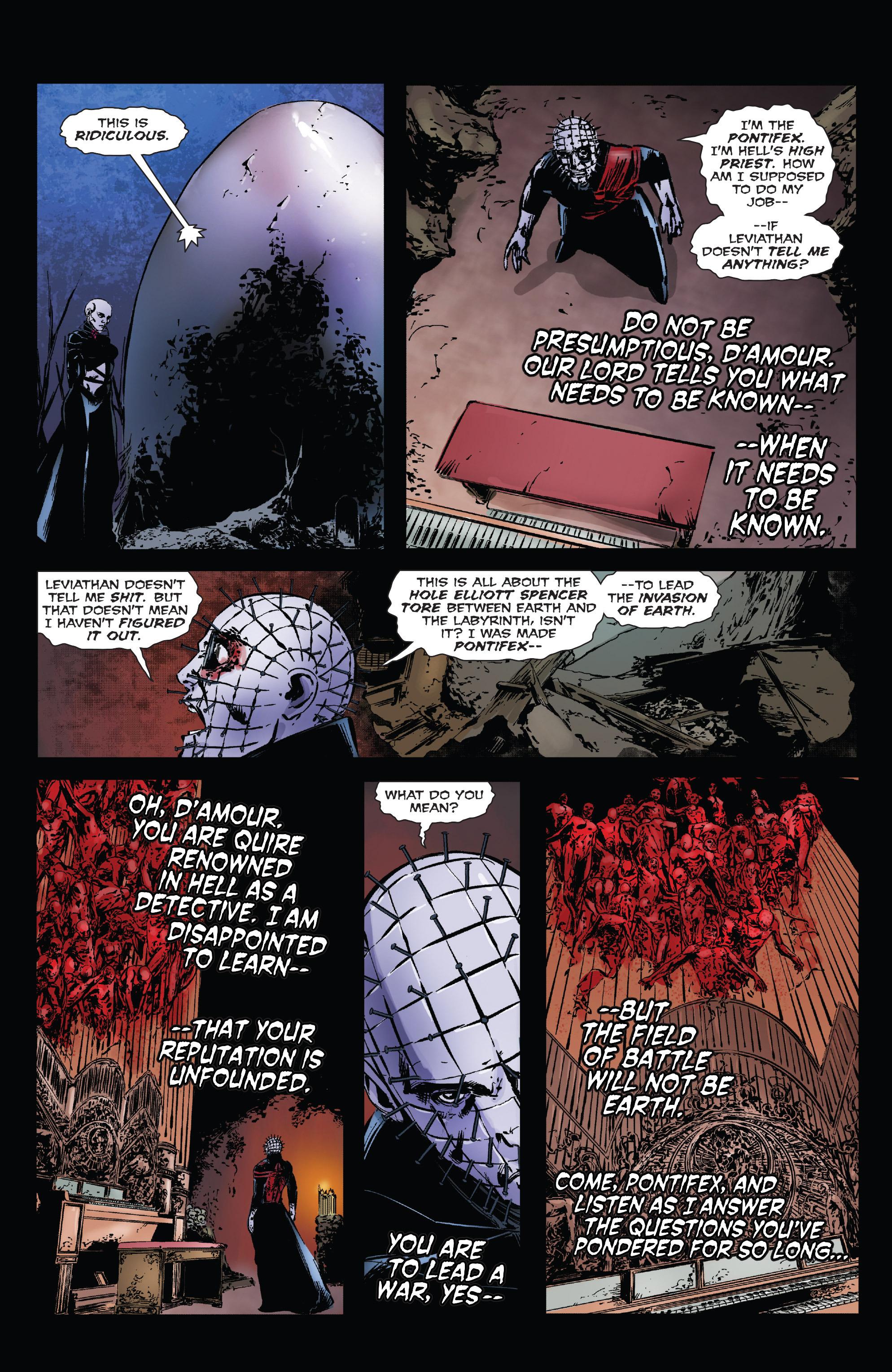 Read online Clive Barker's Hellraiser: The Dark Watch comic -  Issue # TPB 3 - 45