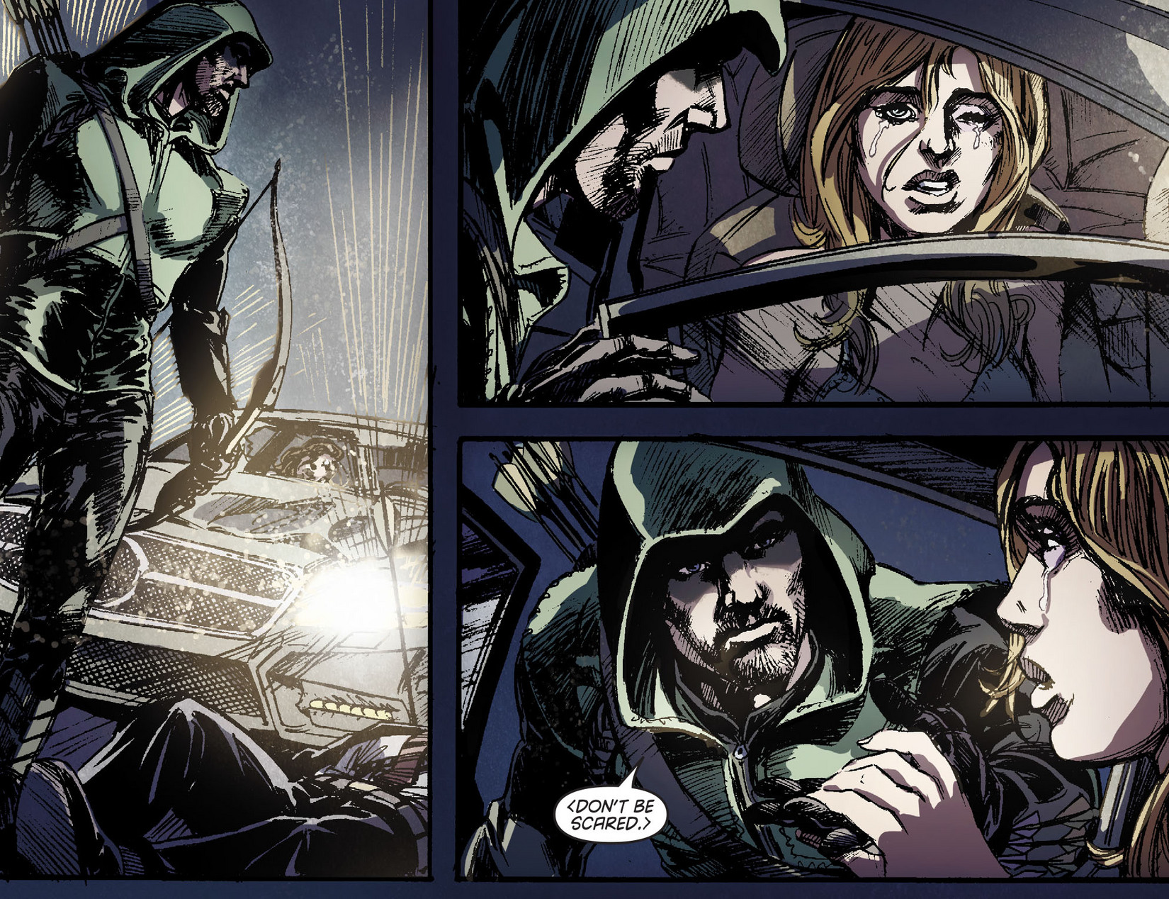 Read online Arrow [II] comic -  Issue #6 - 19