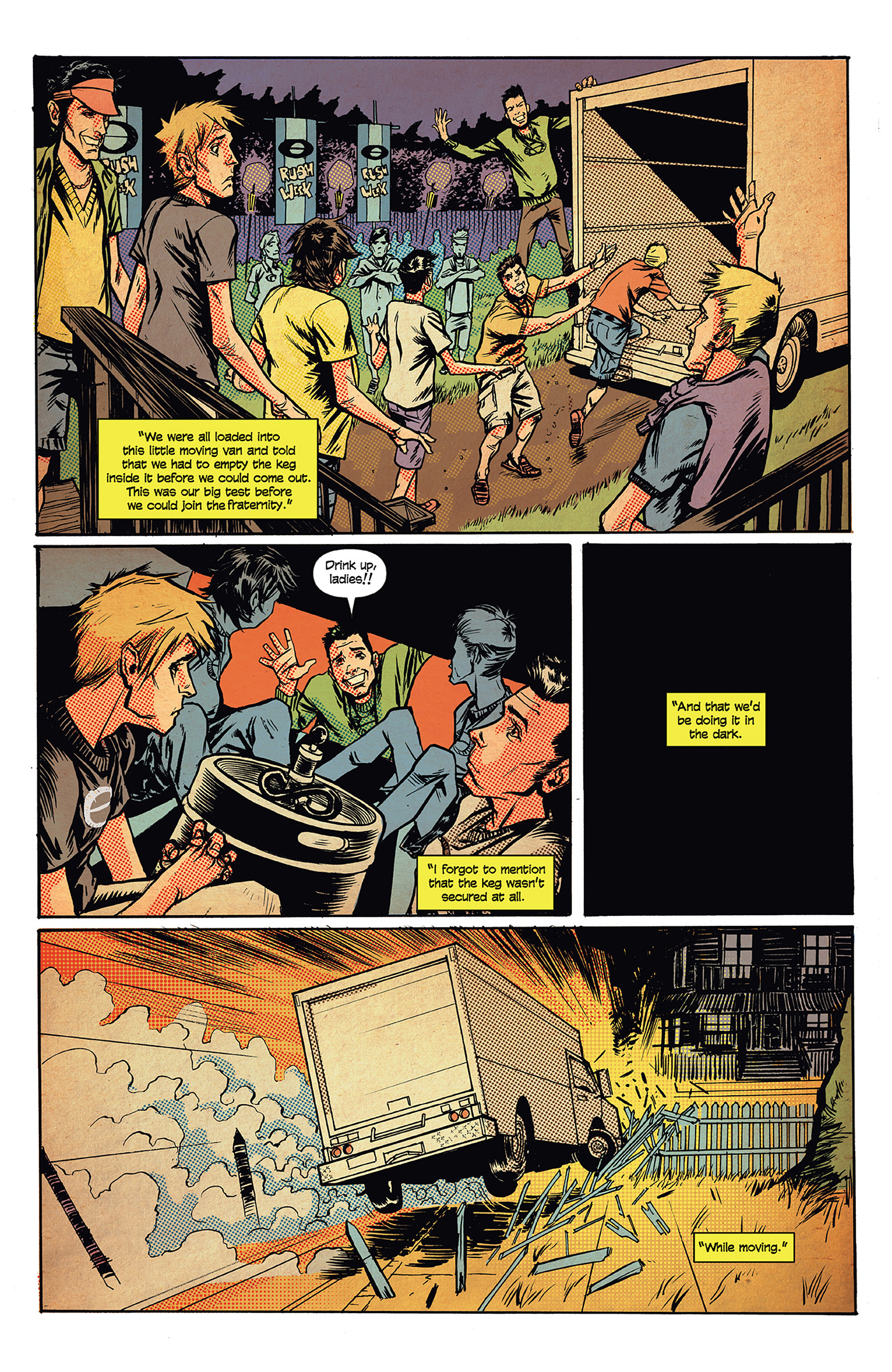 Read online Buzzkill comic -  Issue #1 - 12