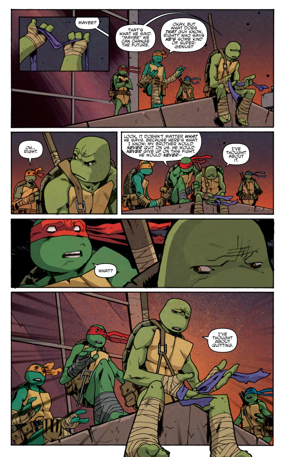 Read online Teenage Mutant Ninja Turtles: The IDW Collection comic -  Issue # TPB 5 (Part 1) - 95