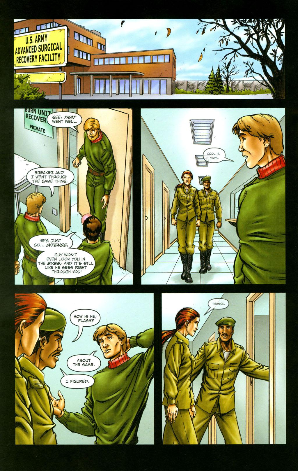 Read online Snake Eyes: Declassified comic -  Issue #6 - 21