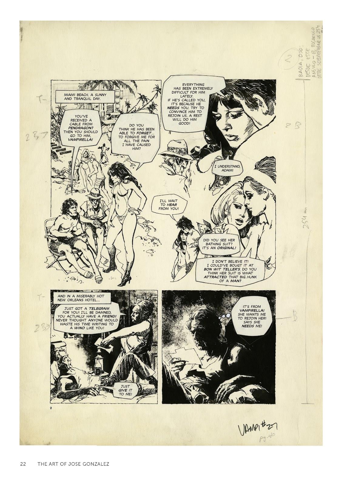 Read online The Art of Jose Gonzalez comic -  Issue # TPB (Part 1) - 23
