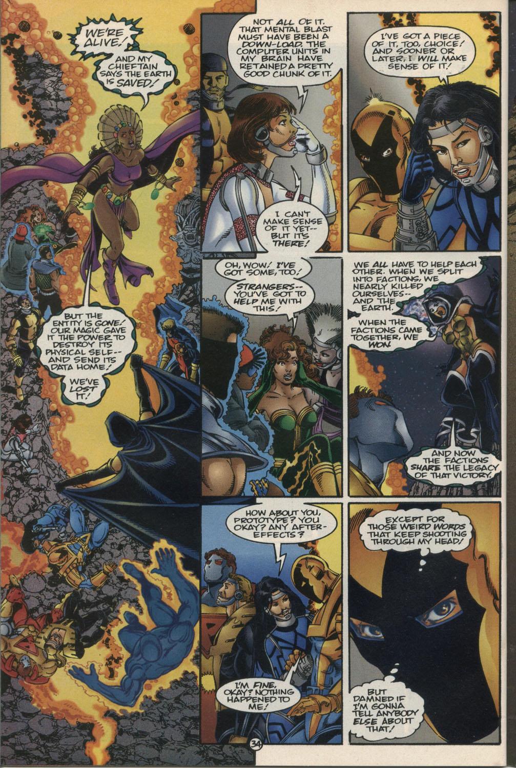 Read online Break-Thru comic -  Issue #2 - 35