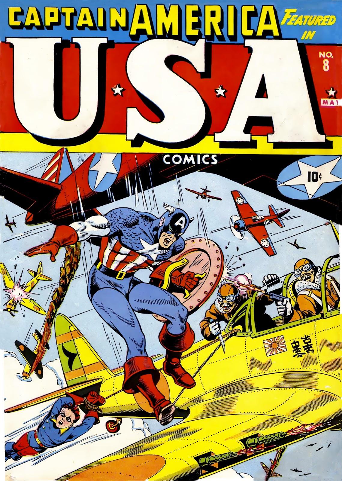 USA Comics issue 8 - Page 1