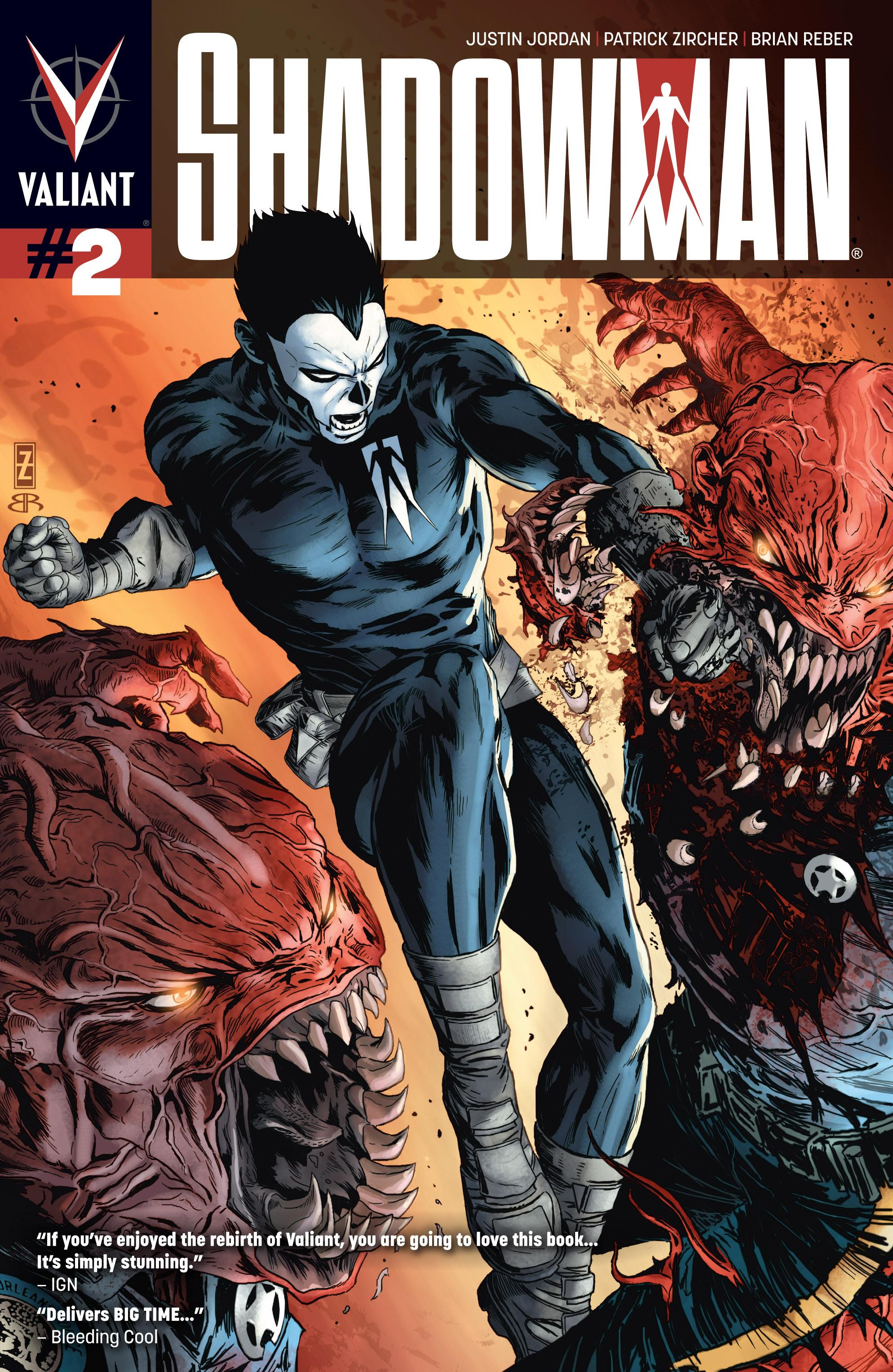 Read online Shadowman (2012) comic -  Issue #2 - 1