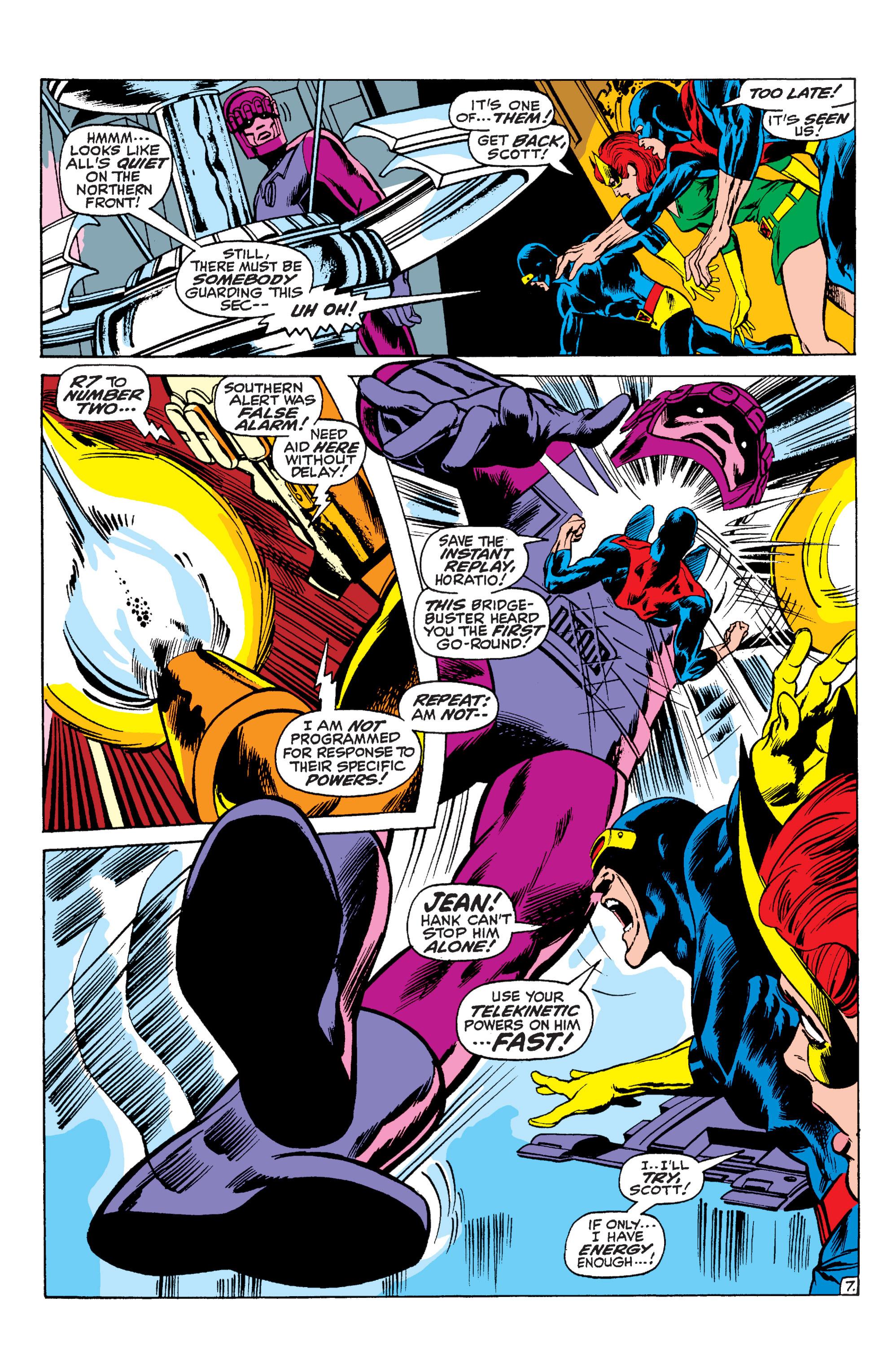 Read online Uncanny X-Men (1963) comic -  Issue #59 - 8