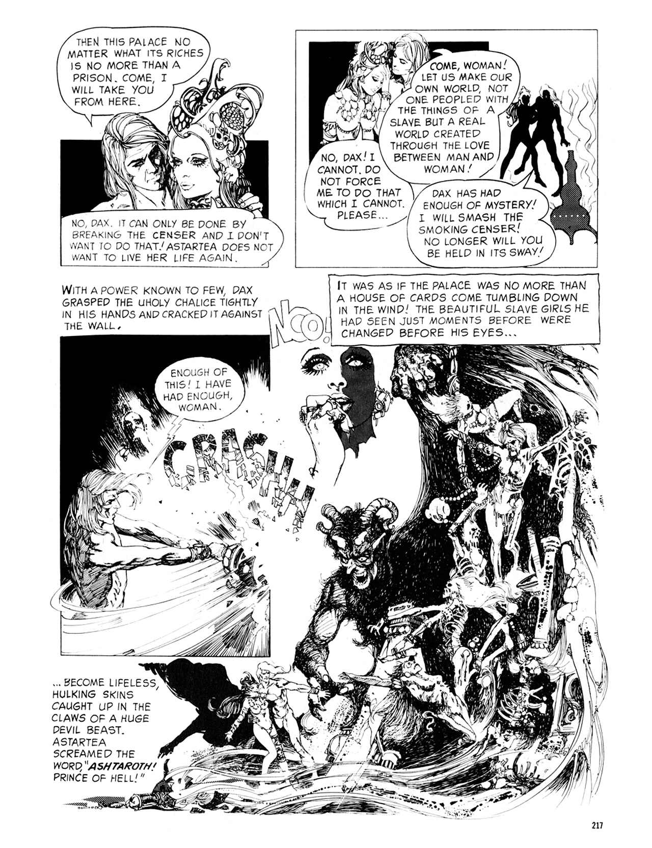 Read online Eerie Archives comic -  Issue # TPB 8 - 218