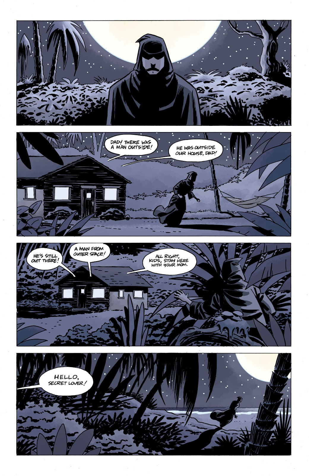 Read online The Twilight Children comic -  Issue #4 - 3