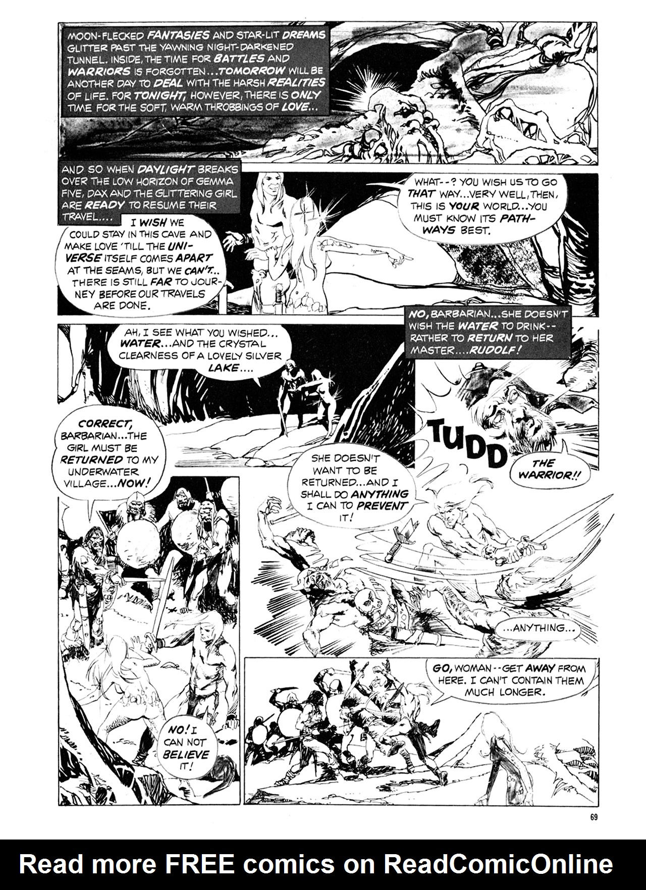 Read online Eerie Archives comic -  Issue # TPB 10 - 70